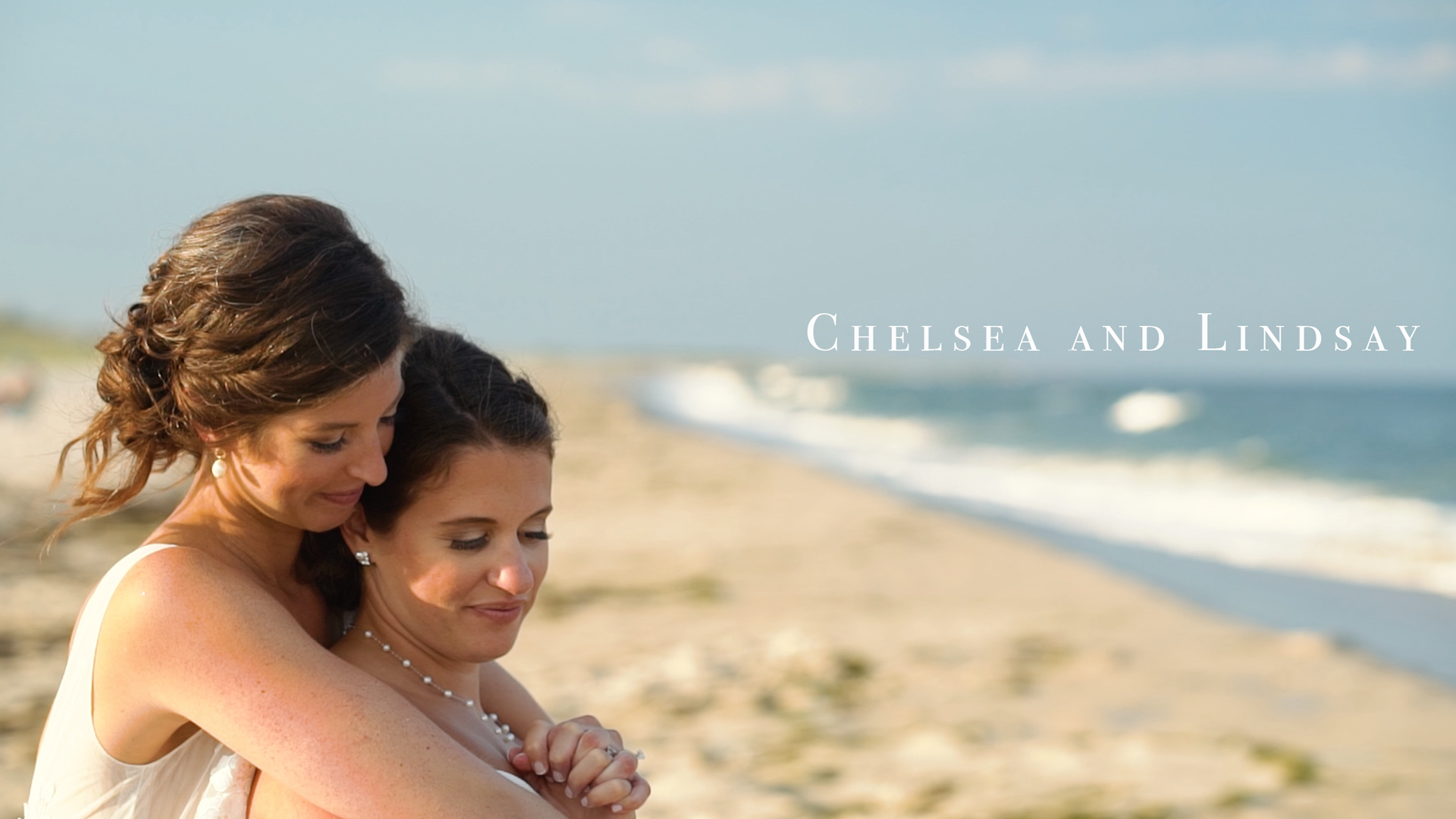Lindsay  + Chelsea | Beach Haven, New Jersey | a beach