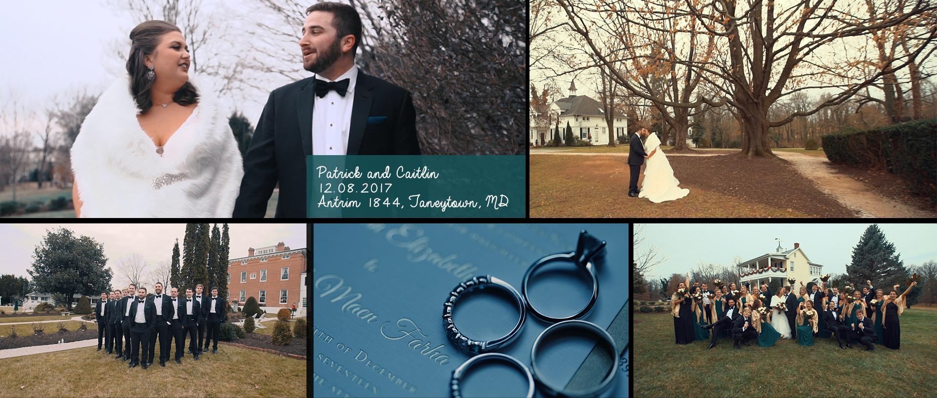 Patrick + Caitlin | Thurmont, Maryland | Antrim 1844