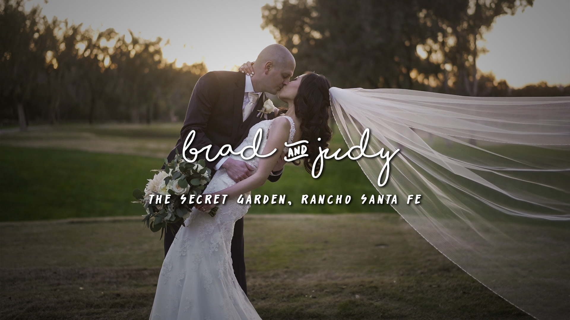 Brad + Judy | Rancho Santa Fe, California | The Secert Garden