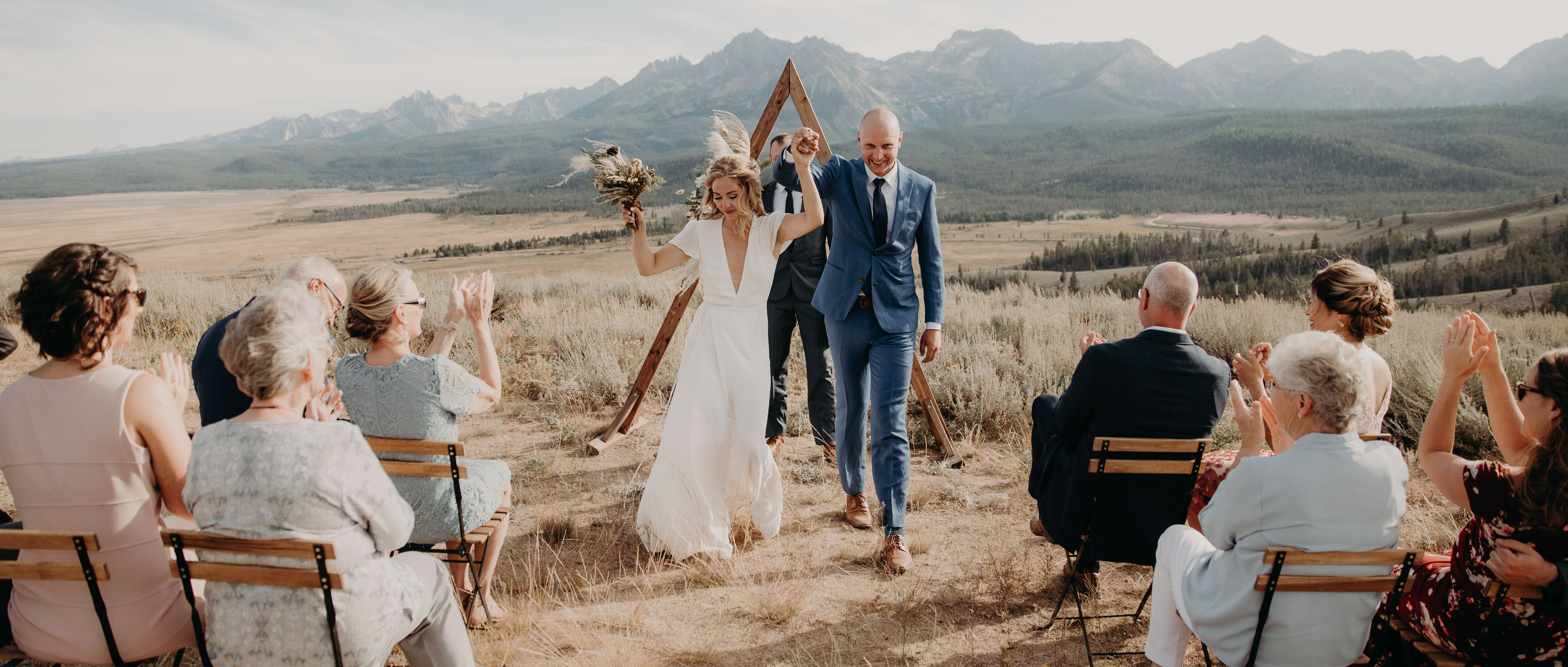 Tia + Alex | Stanley, Idaho | Sawtooth Mountains