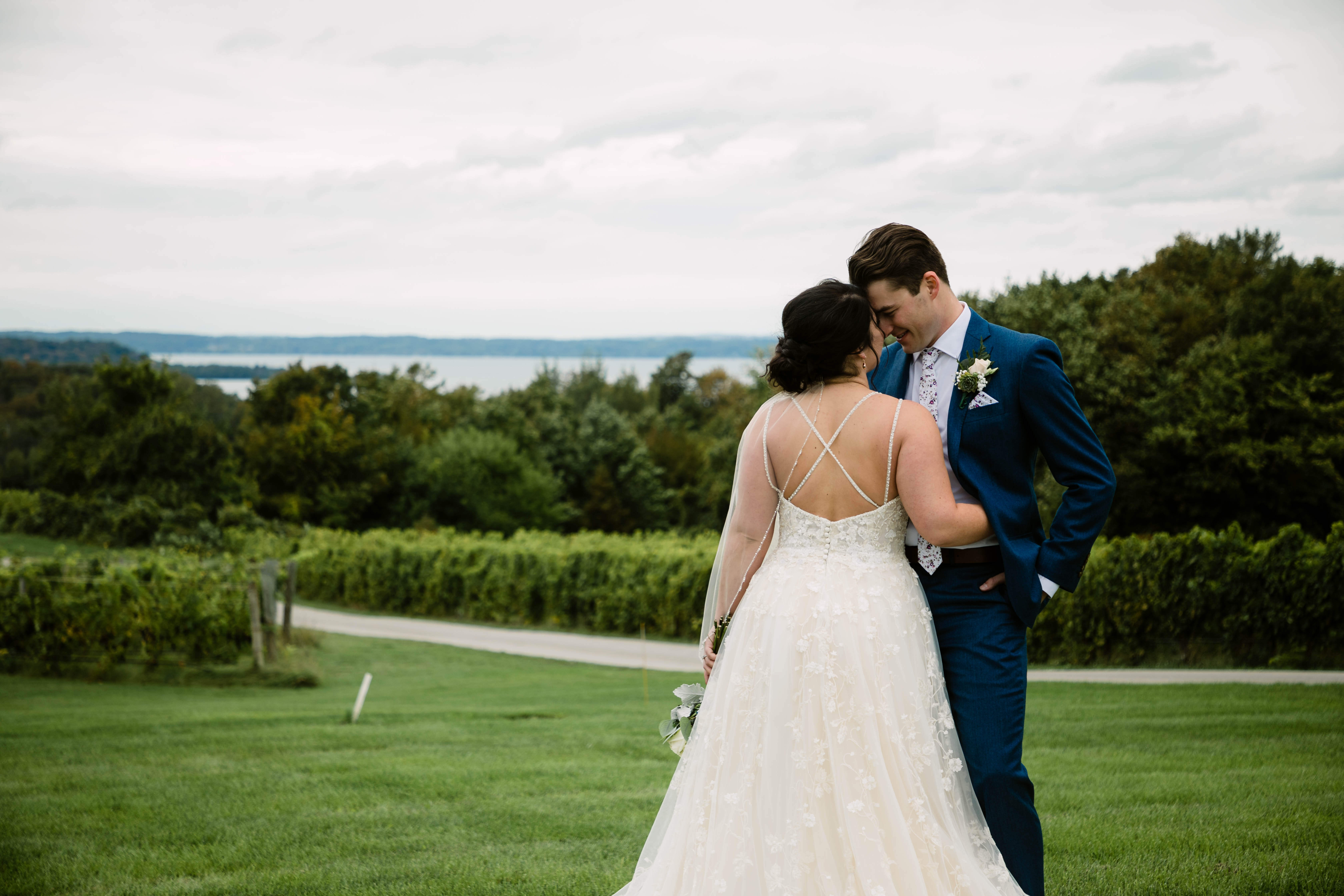 Adam + Chelsy | Traverse City, Michigan | The Peninsula Room