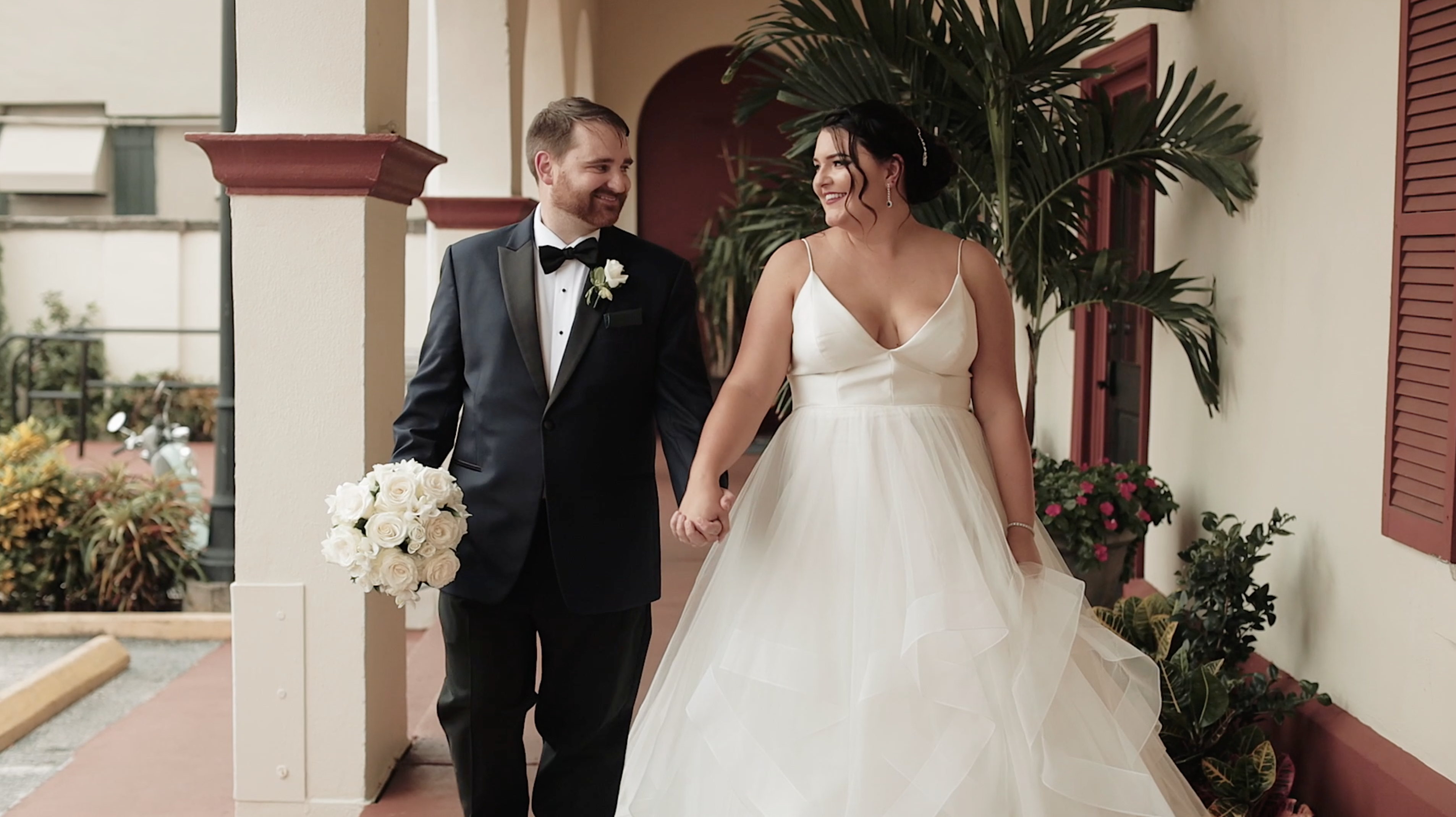 Madi + John | St. Augustine, Florida | Treasury on the Plaza