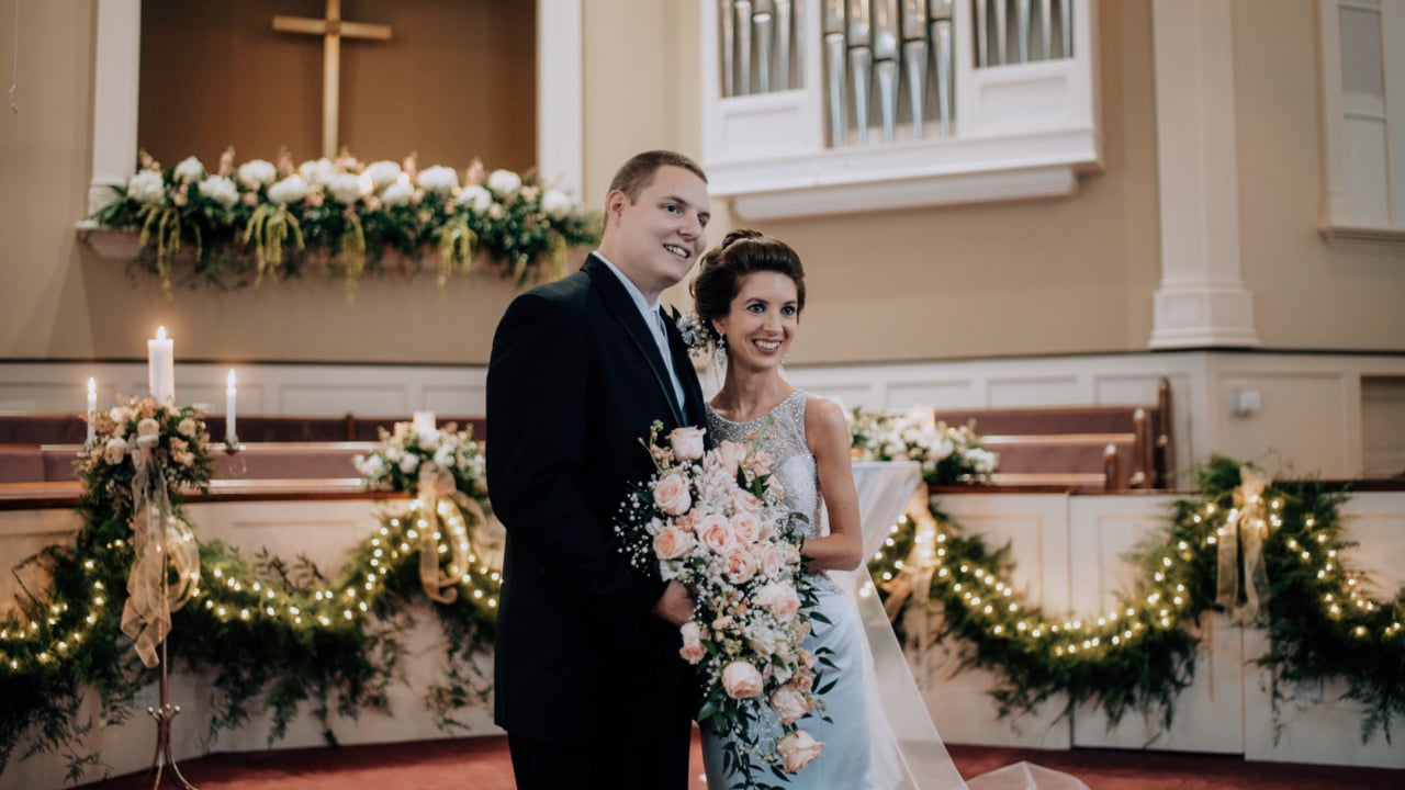 Taylor + Caleb | Hudson, North Carolina | First Baptist Church of Hudson