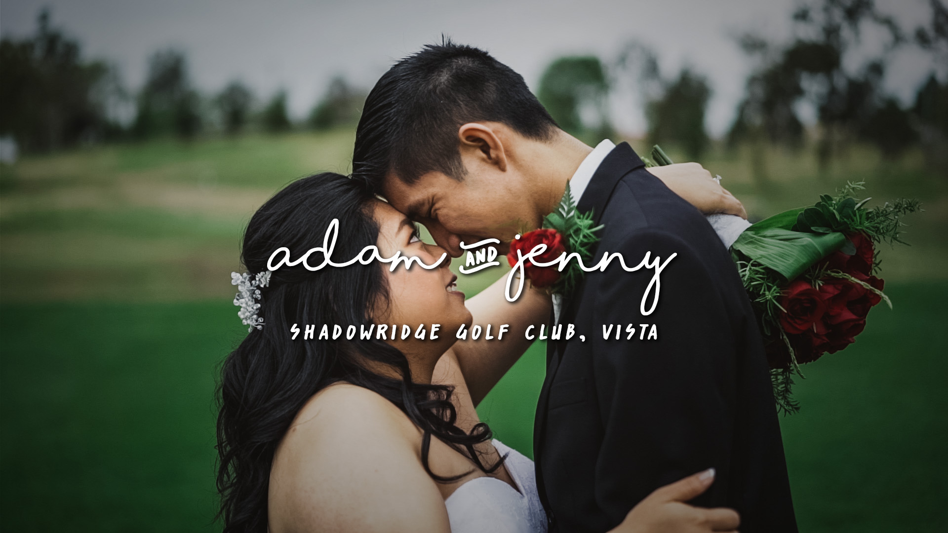 Adam + Jenny | Vista, California | Shadowridge Golf Club