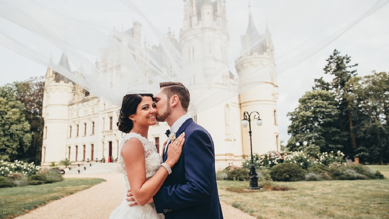 Sherlyn + Daniel | Paris, France | Chateau de Challain