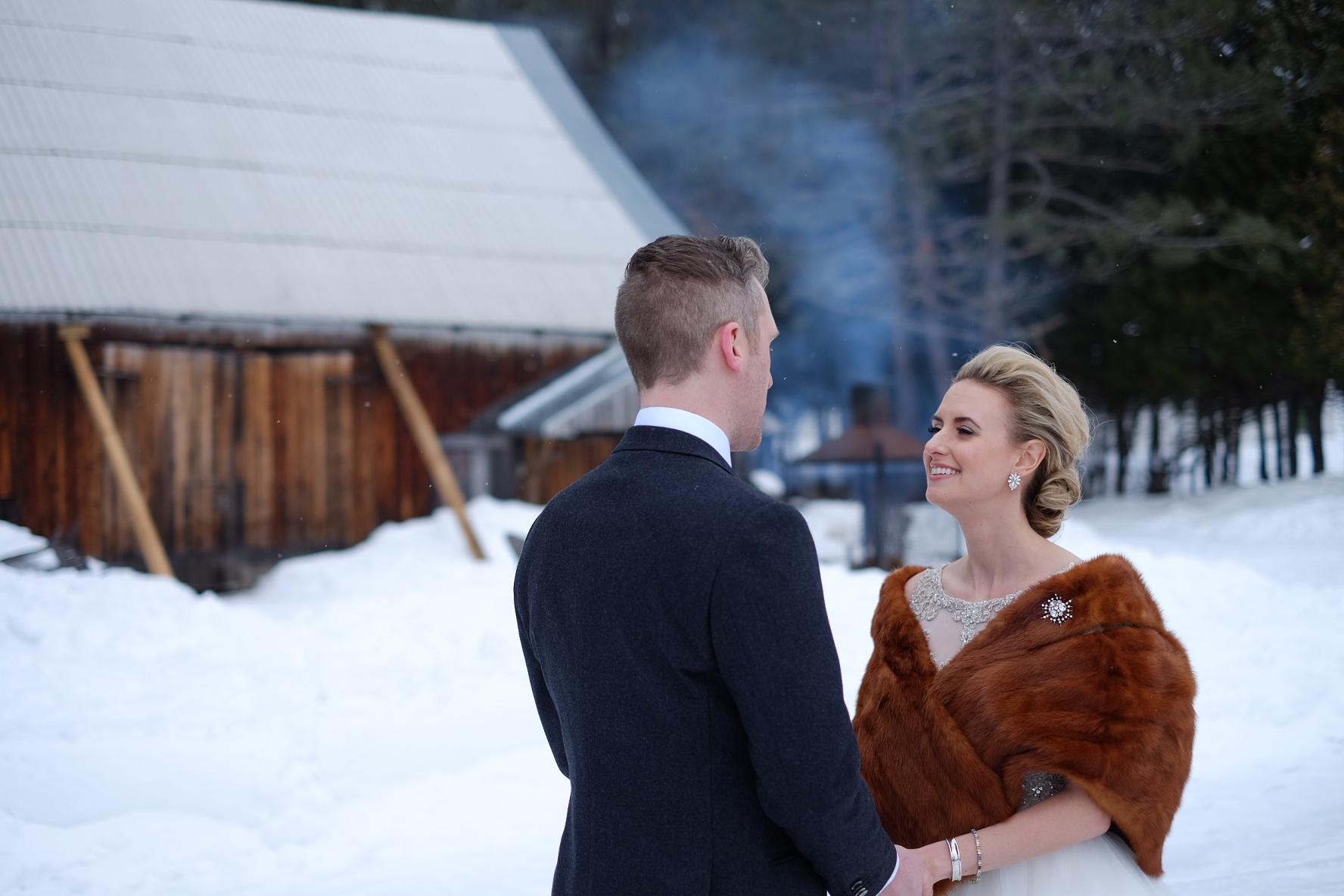 Allie + John   Mont-Tremblant, Canada   Le Grand Lodge Mont-Tremblant