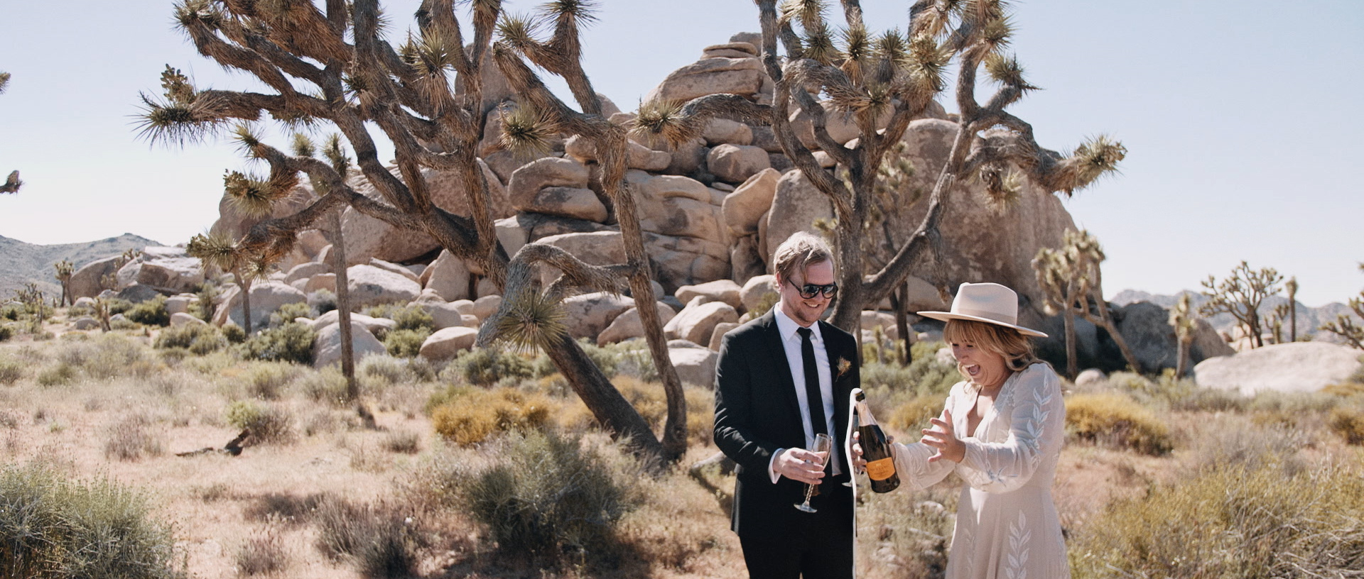 Hilton + Danny | Joshua Tree, California | Joshua Tree Saloon