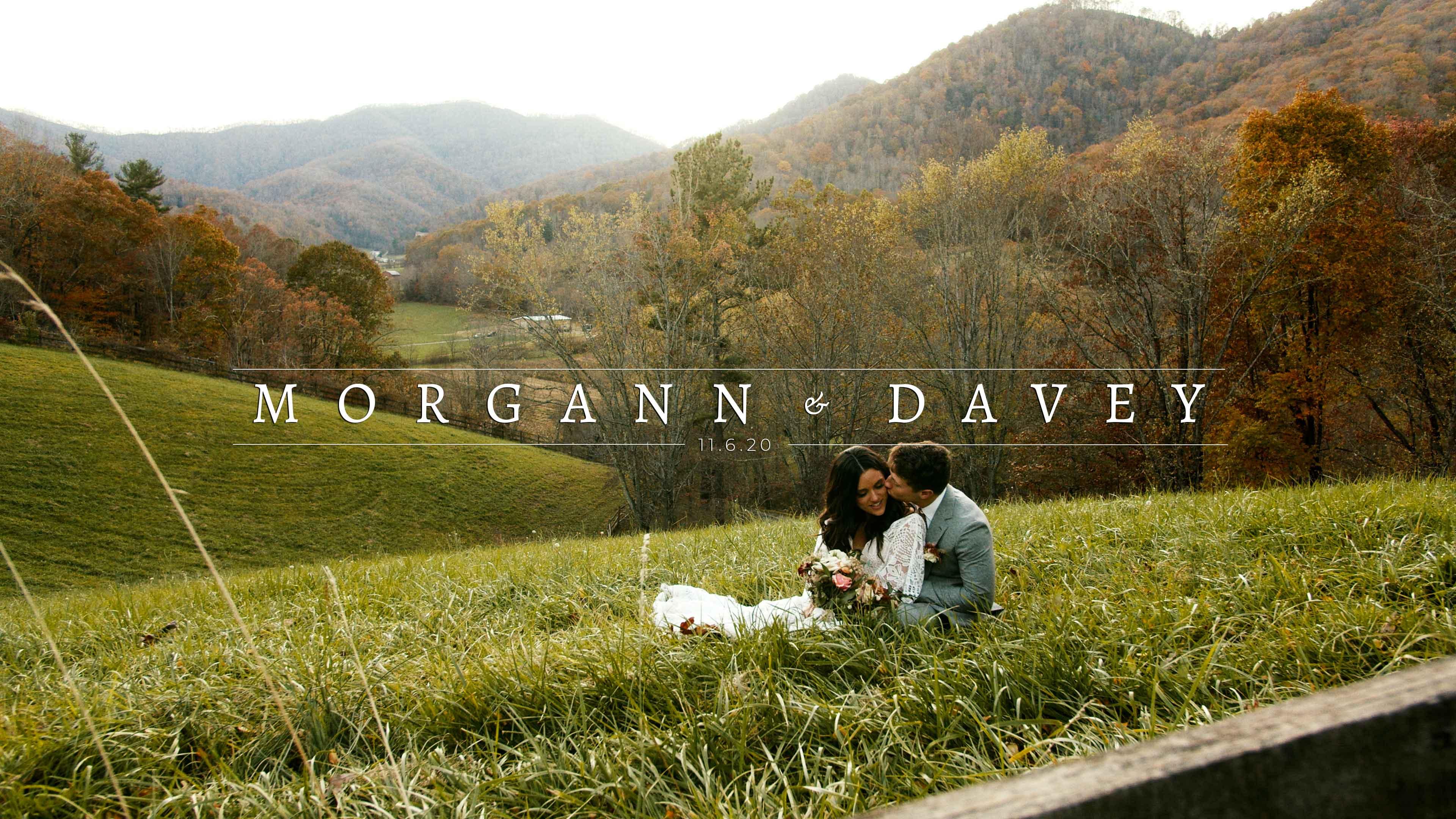Morgann + Davey | Asheville, North Carolina | Mount Airy Farm