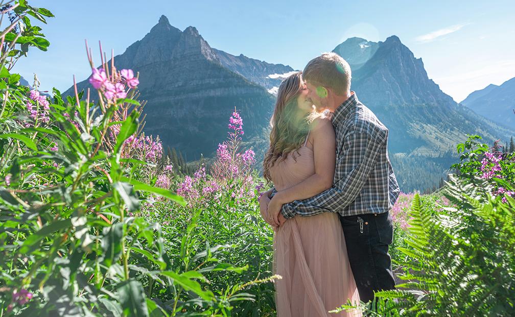 Anna + Bryce | Glacier County, Montana | Glacier National Park