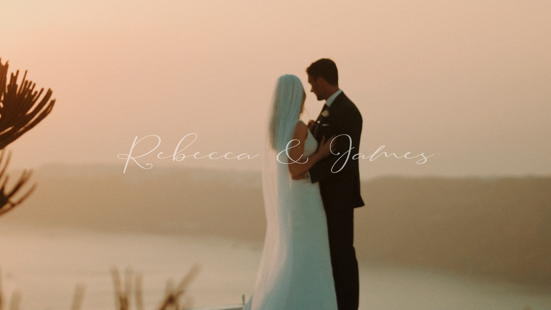 Rebecca + James | Thera, Greece | Cocoon Suites