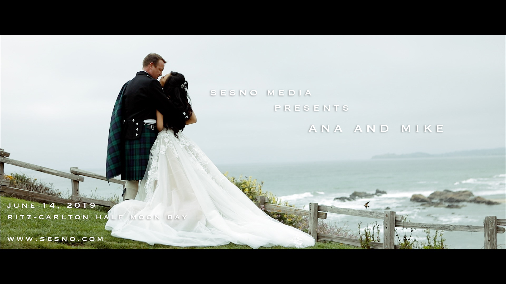Ana + Mike | Half Moon Bay, California | Ritz Carlton Half-Moon Bay