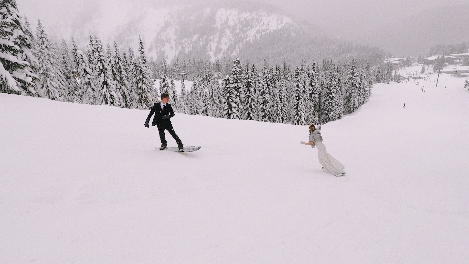 Josh + Jessa | Skykomish, Washington | Stevens Pass