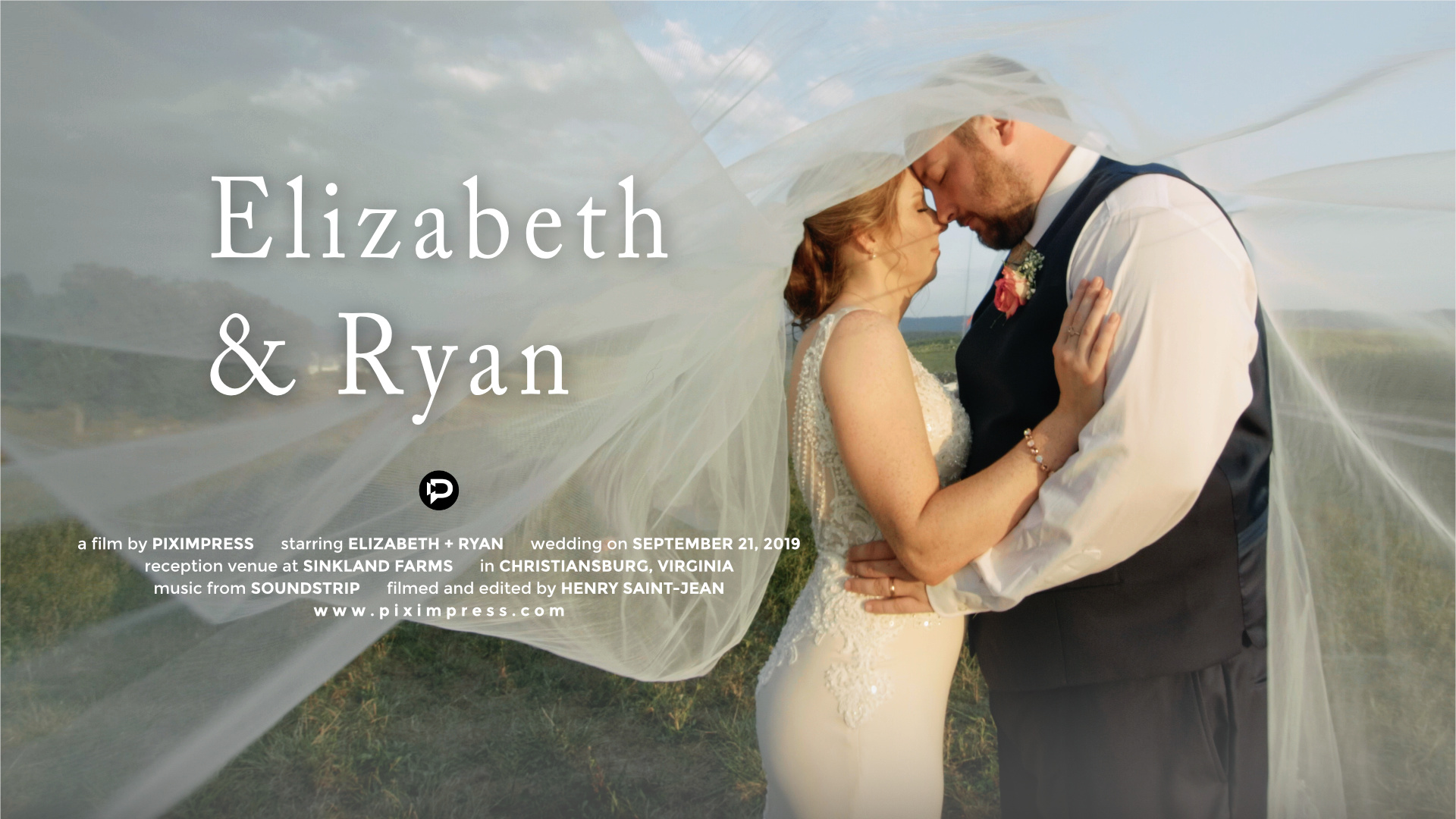 Elizabeth + Ryan | Christiansburg, Virginia | Sinkland Farms