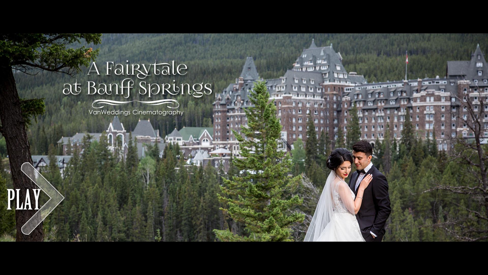 Helya + Arian | Banff, Canada | Fairmont Banff Springs