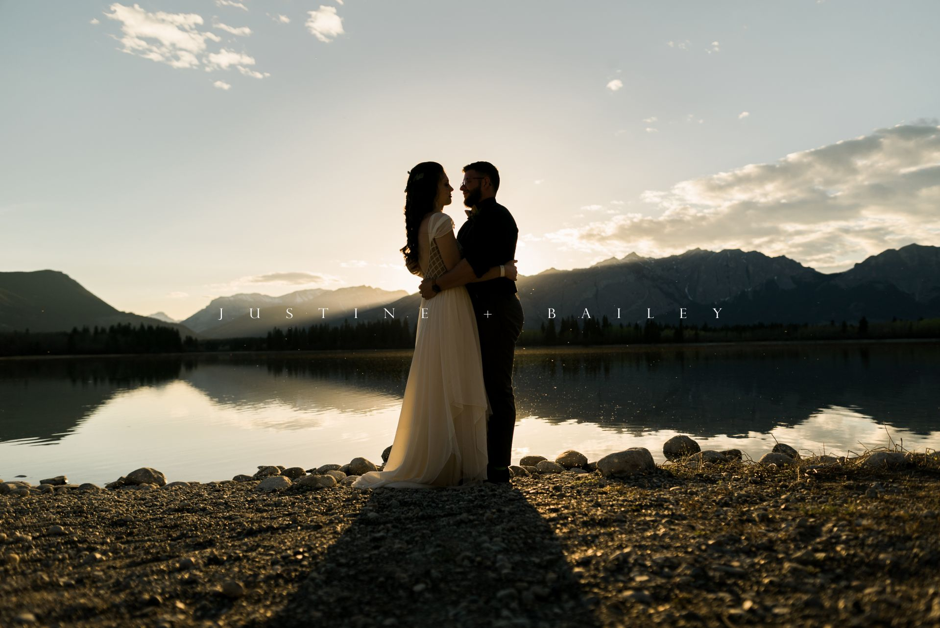 Justine + Bailey | Alberta, Canada | Bride + Groom