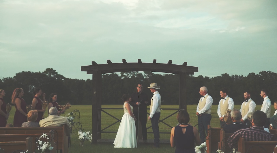 Taylor + CJ | Sumterville, Florida | Rustic Events