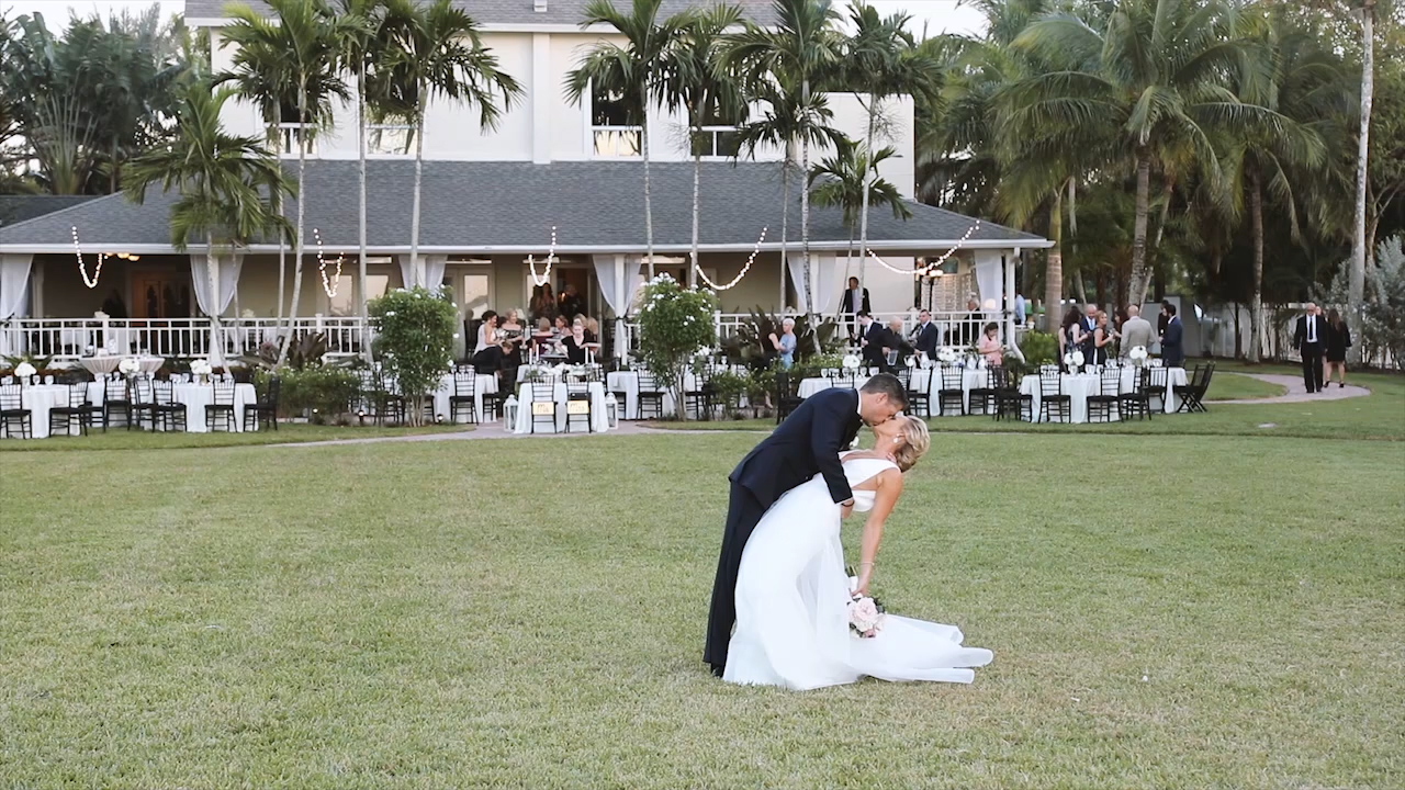Phil + Sarah   Fort Myers, Florida   White Orchid at Oasis
