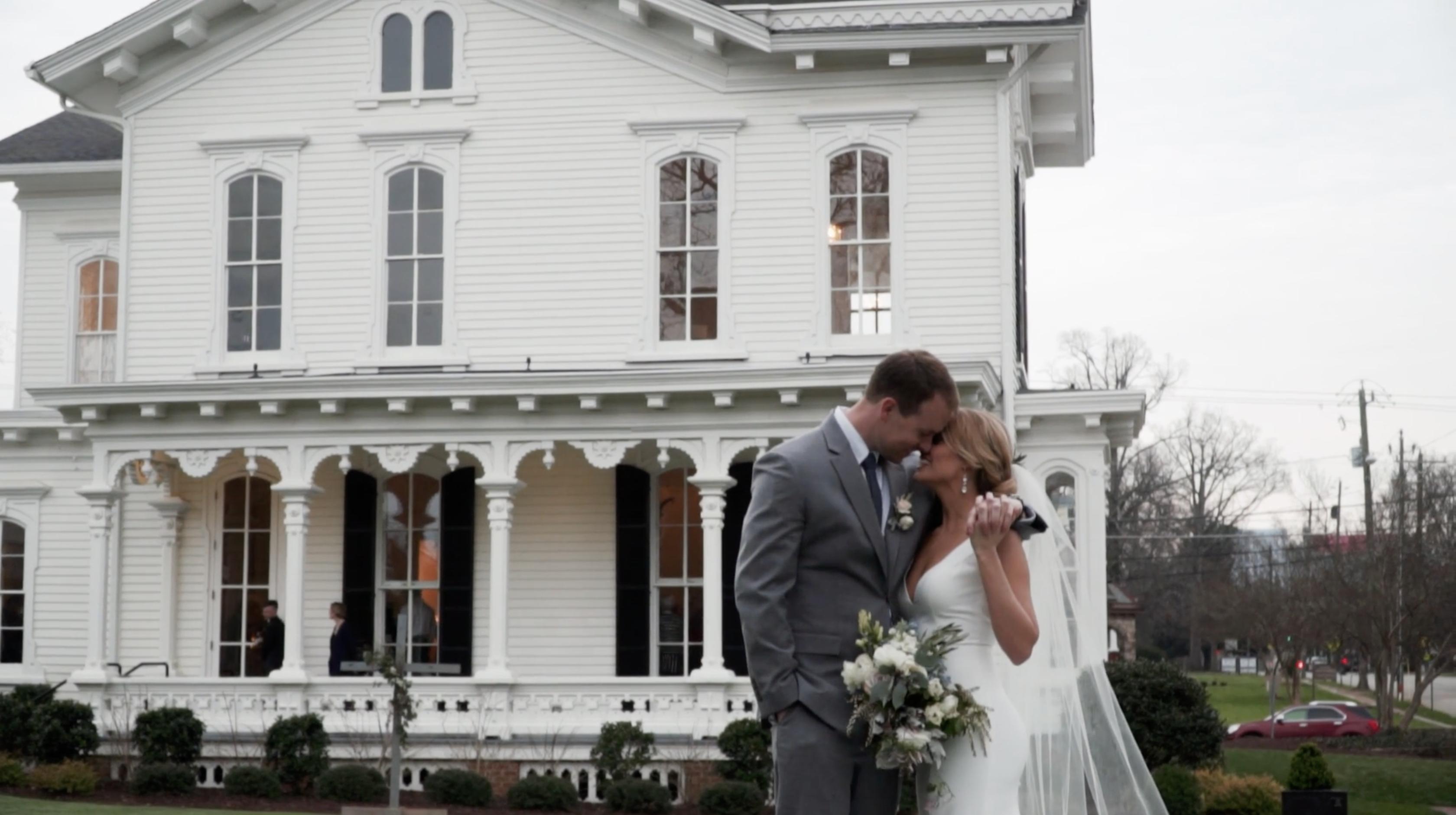 Sarah + Clint | Raleigh, North Carolina | Merrimon-Wynne House