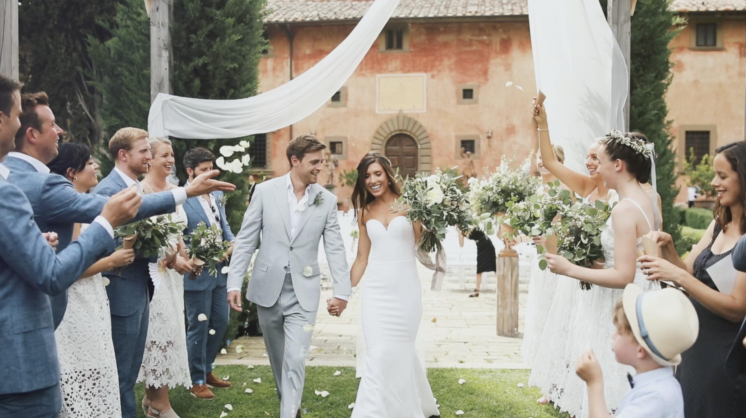 Jess + John | Tuscany, Italy | Vignamaggio