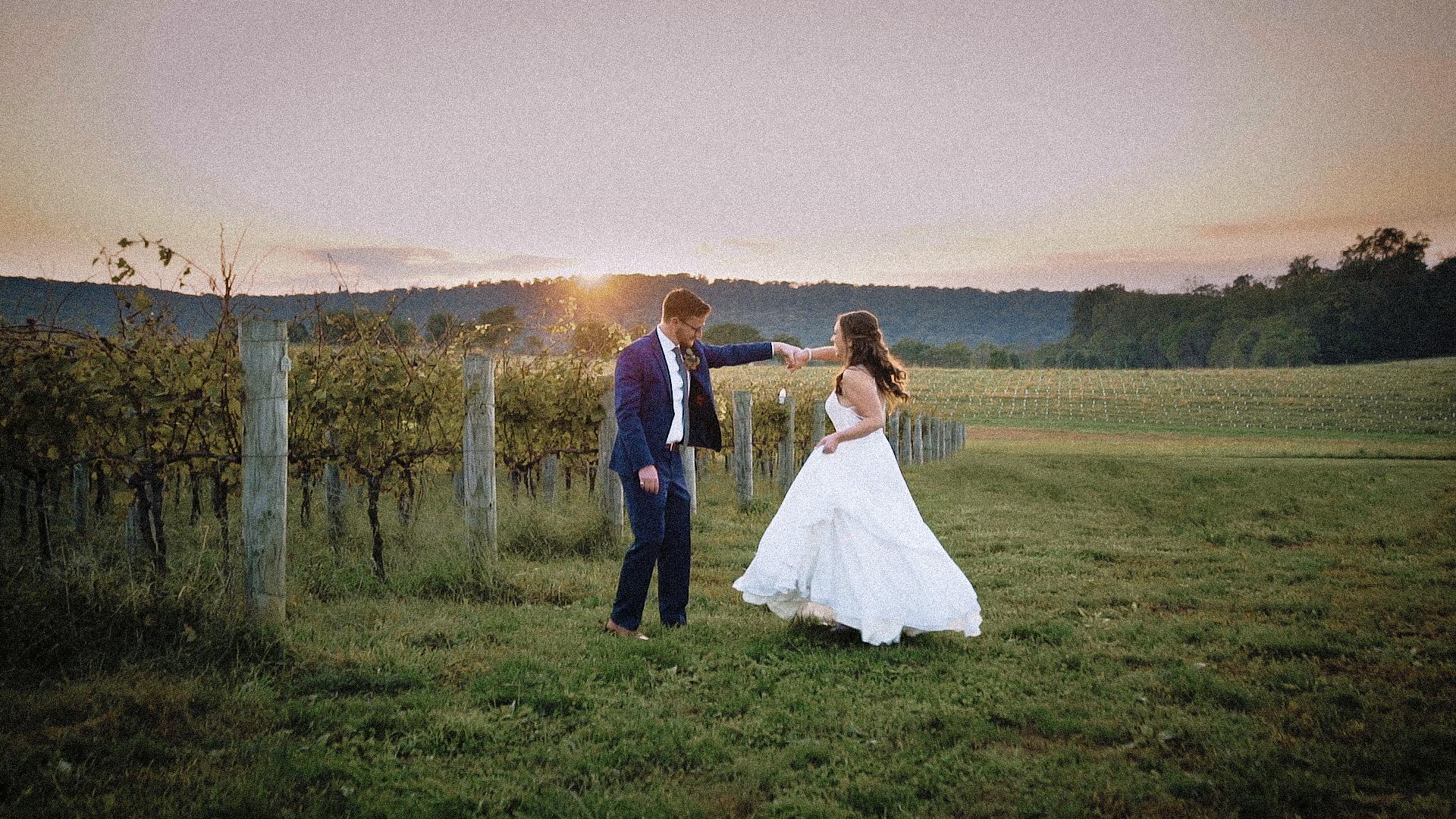Shelby + Matt | Rohrersville, Maryland | Big Cork Vineyards