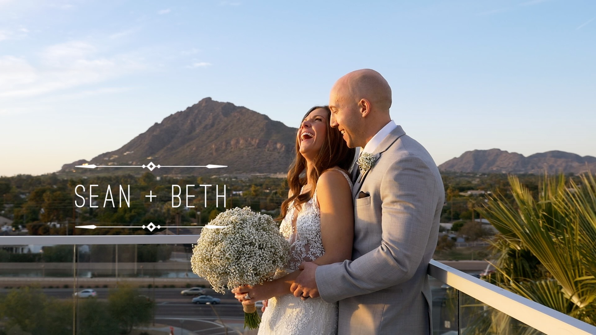 Sean  + Beth  | Scottsdale, Arizona | Hotel Valley Ho