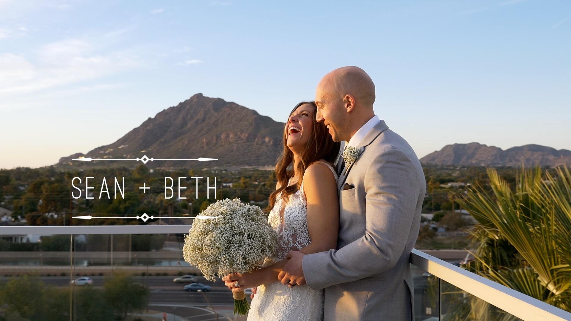Sean  + Beth  | Scottsdale, Arizona | Hotel Valley Ho