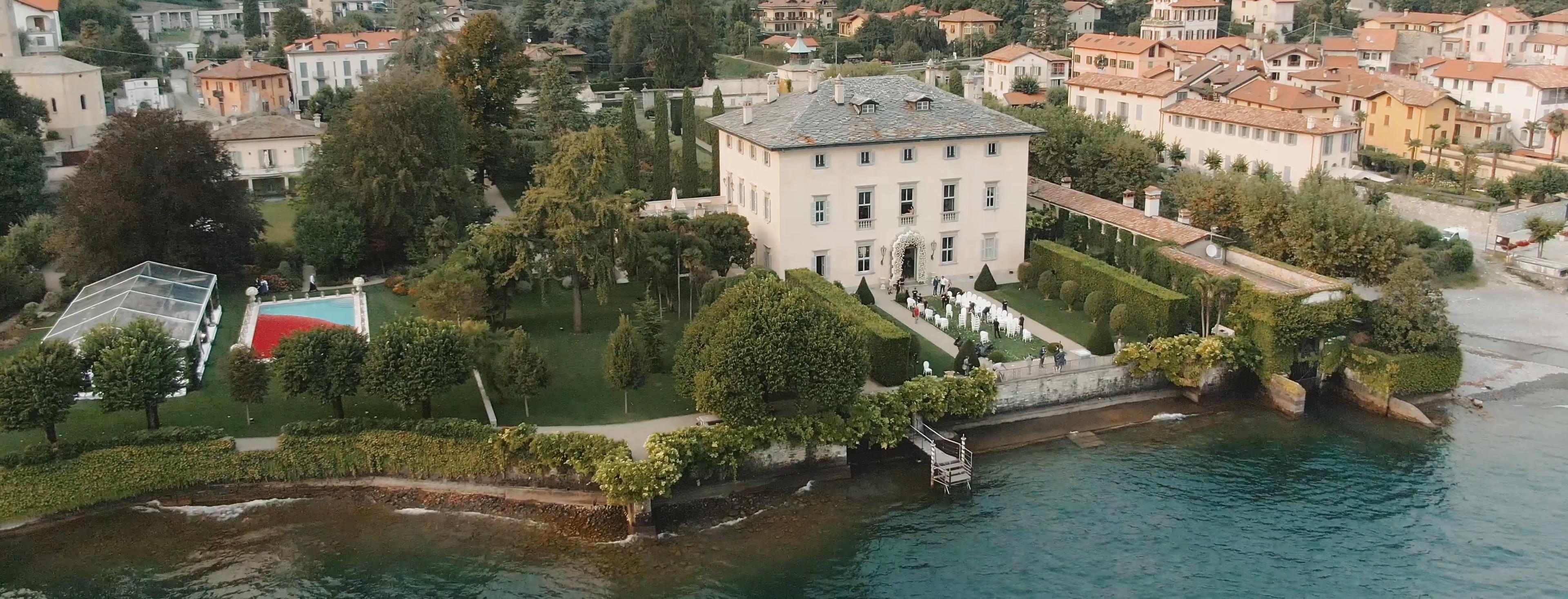 Rebecca + Glen | Venice, Italy | Villa Balbiano