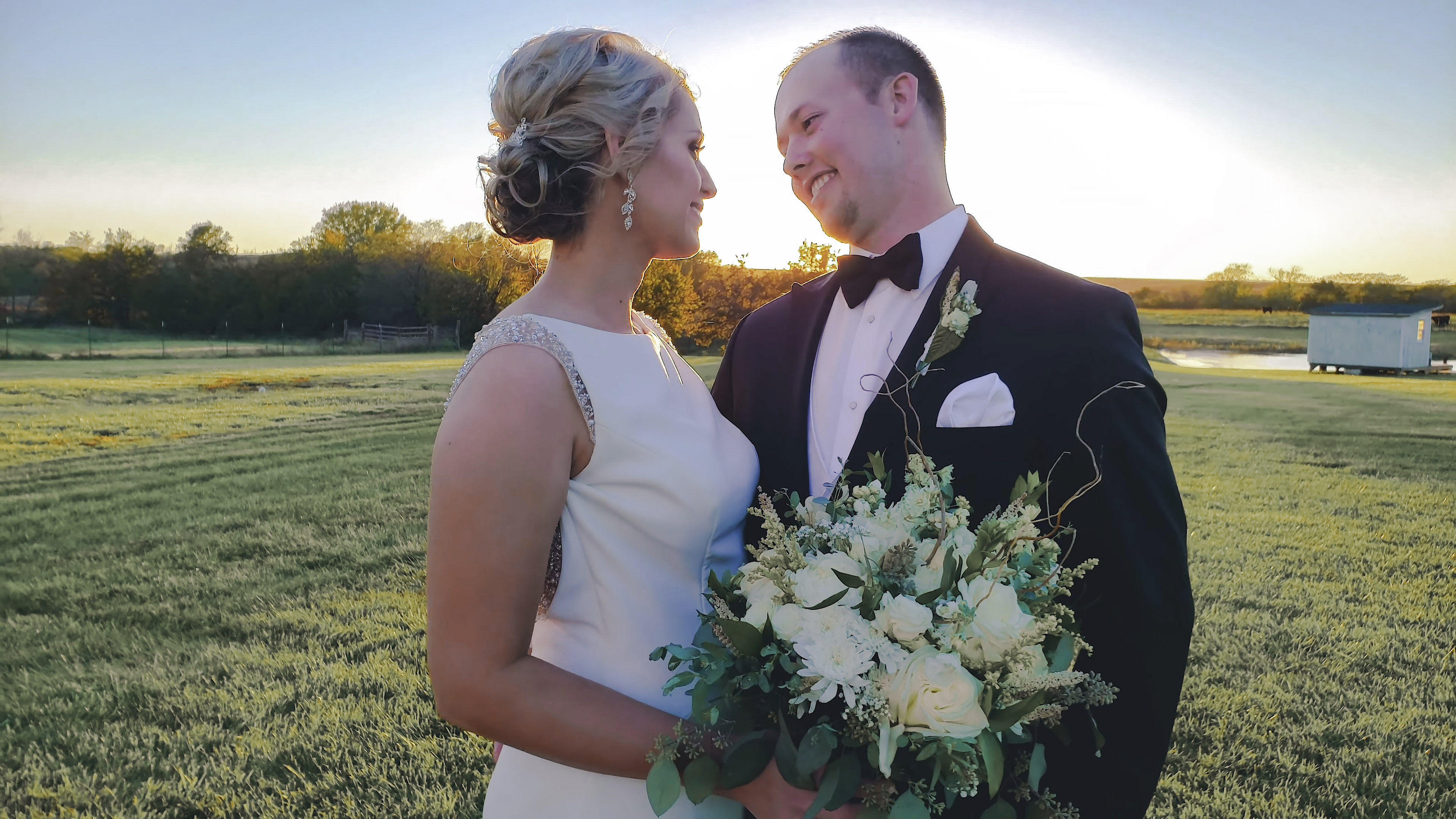 Jessica + Andrew | Pomona, Kansas | Private Farm