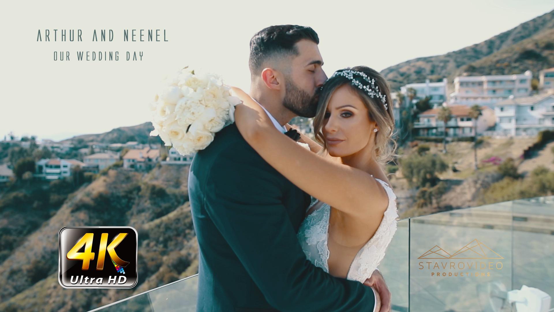 Arthur + Neenel | Glendale, California | Vertigo Banquet hall