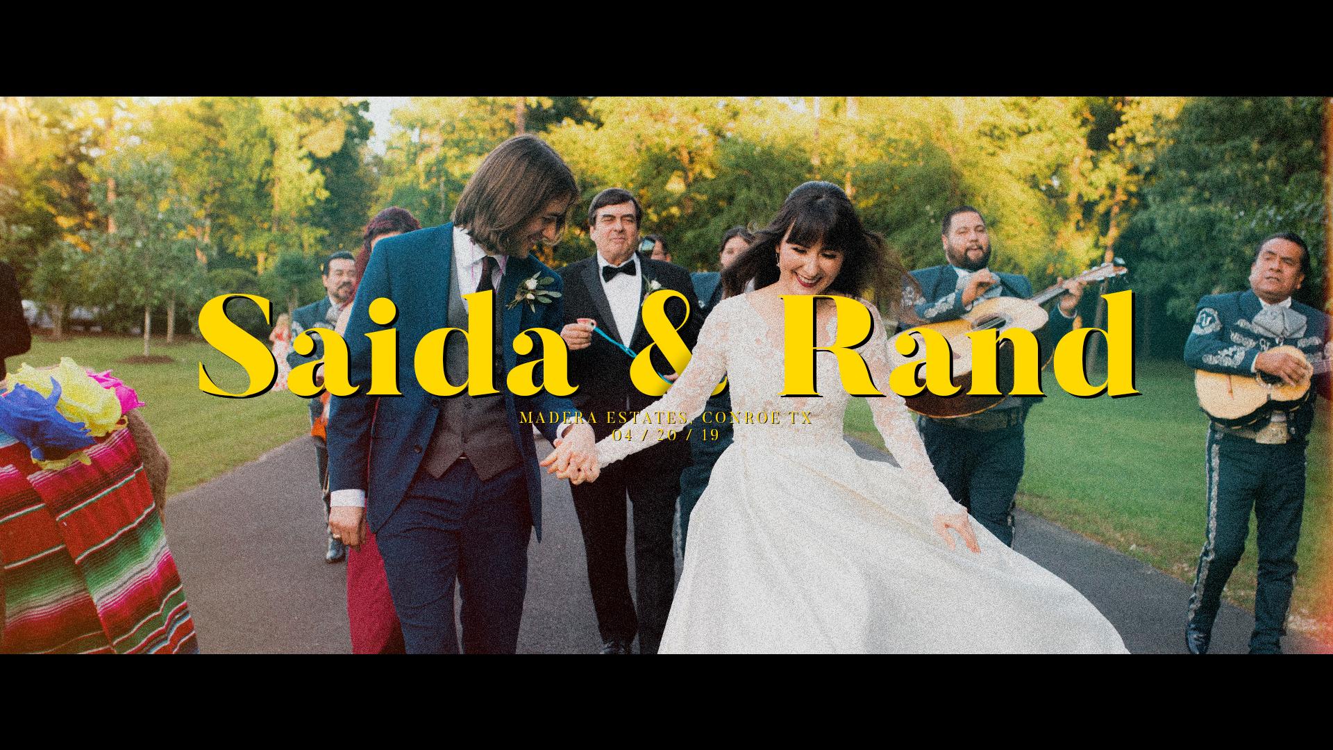 Saida + Rand | Conroe, Texas | Madera Estates Wedding and Events