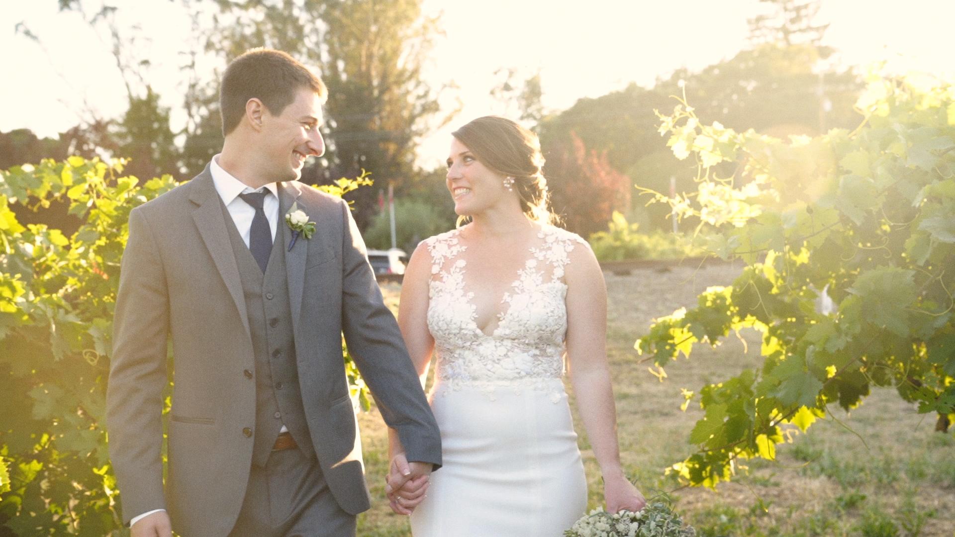 Sarah + John | Geyserville, California | Trentadue