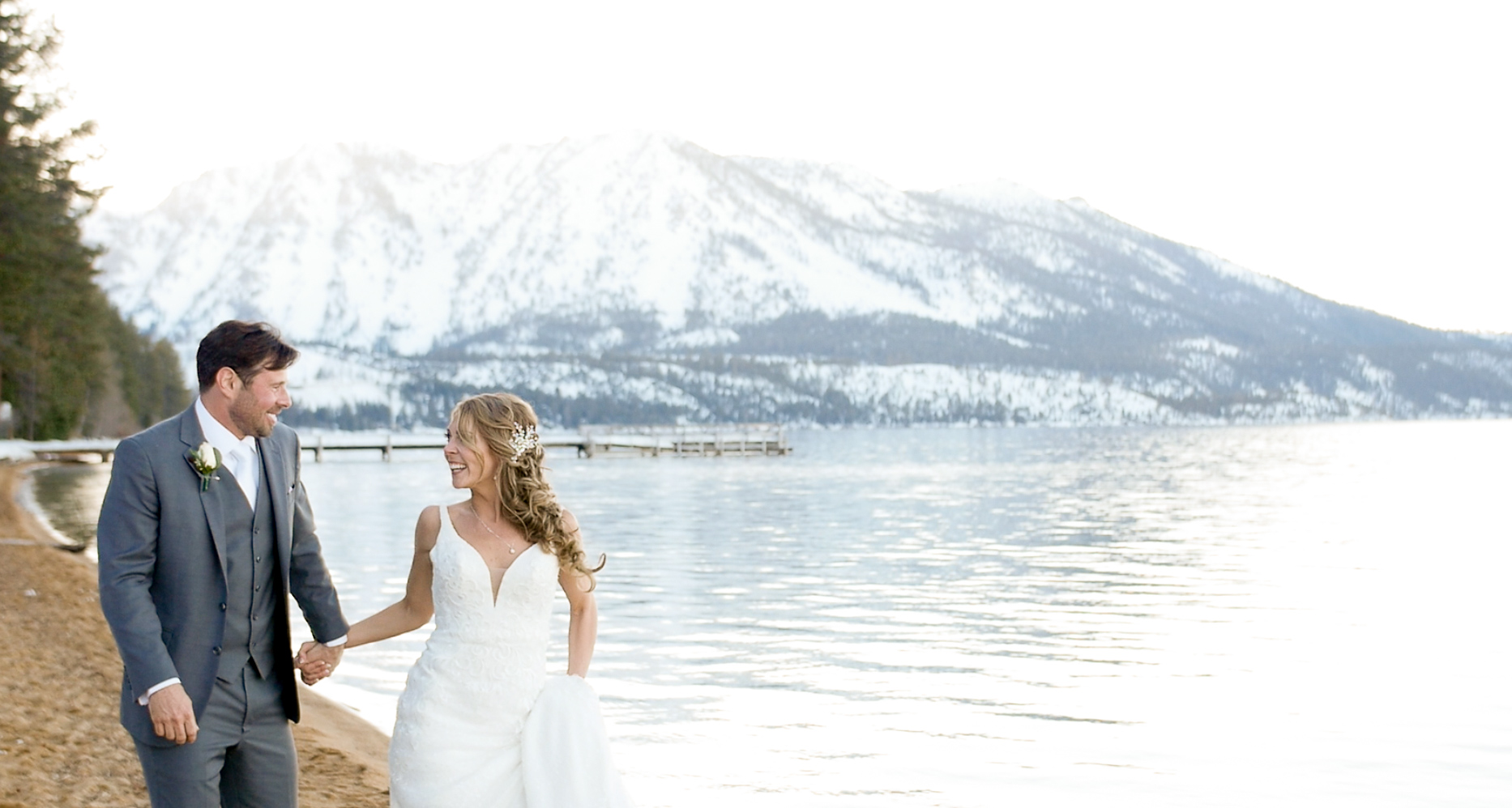 Brittany + Jon | South Lake Tahoe, California | Emerald Bay