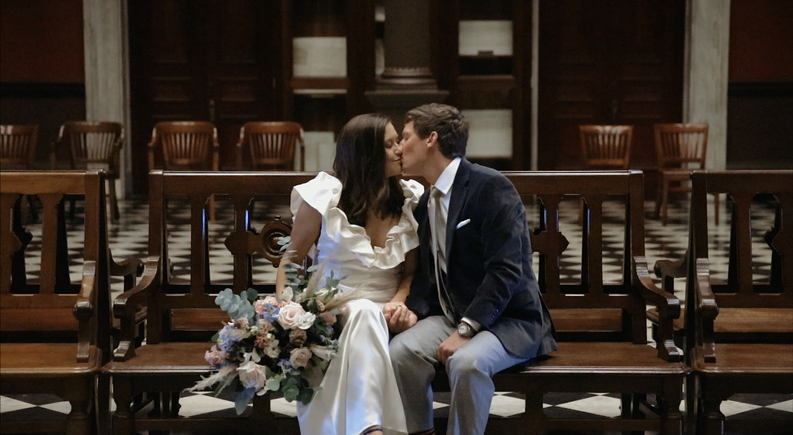 Josie + Reid | Charleston, South Carolina | merchants hall
