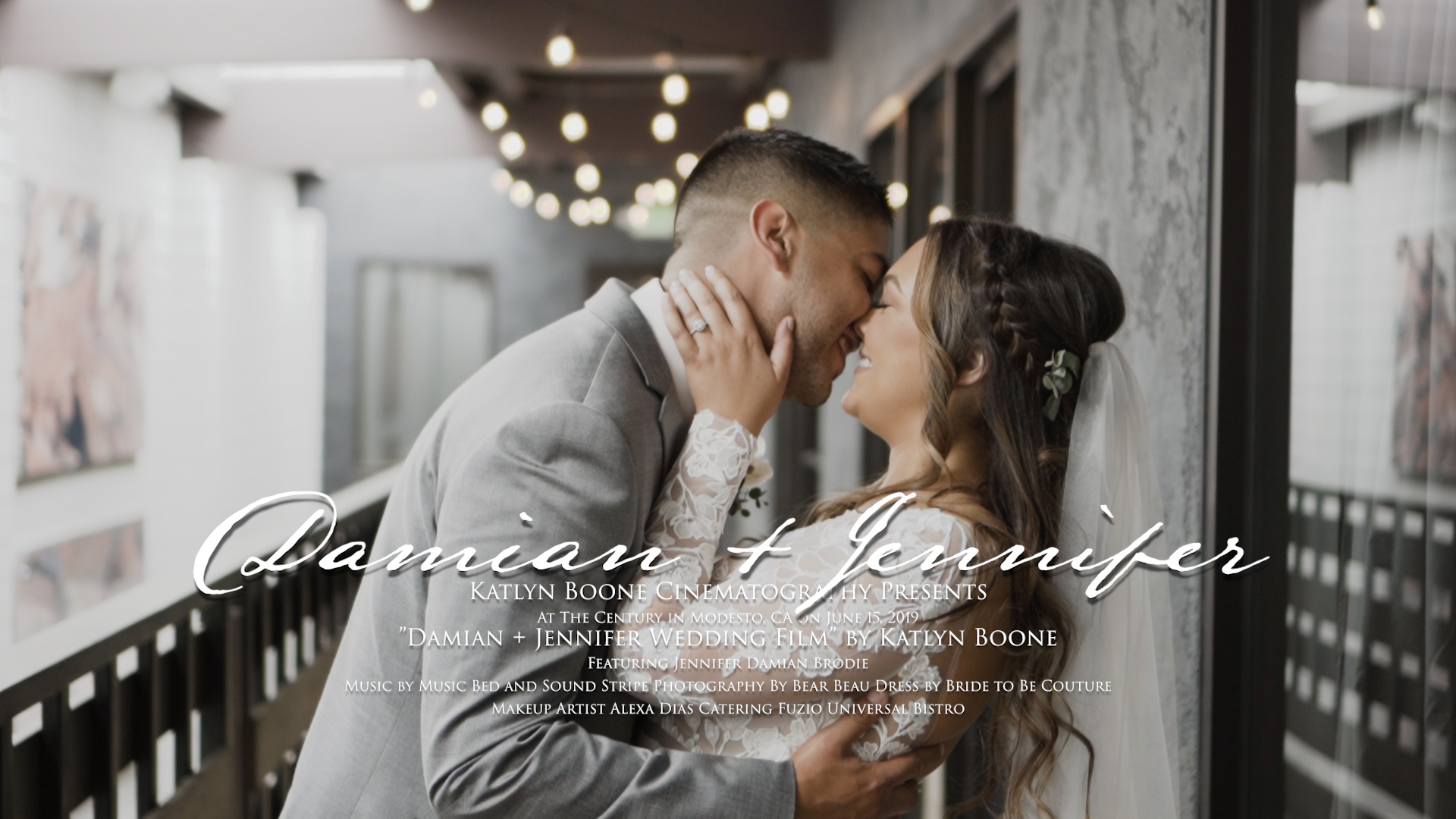 Damian + Jennifer | Modesto, California | The Century