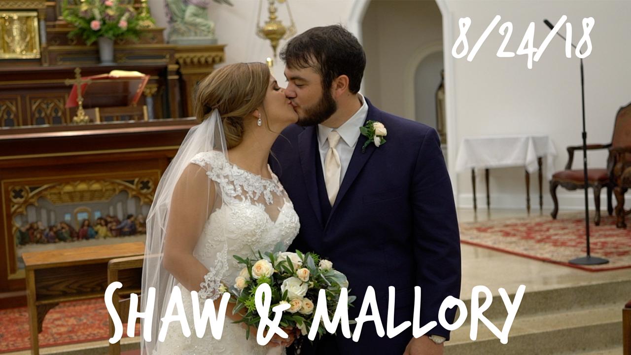 Shaw + Mallory | New Iberia, Louisiana | La Louisiane banquet hall