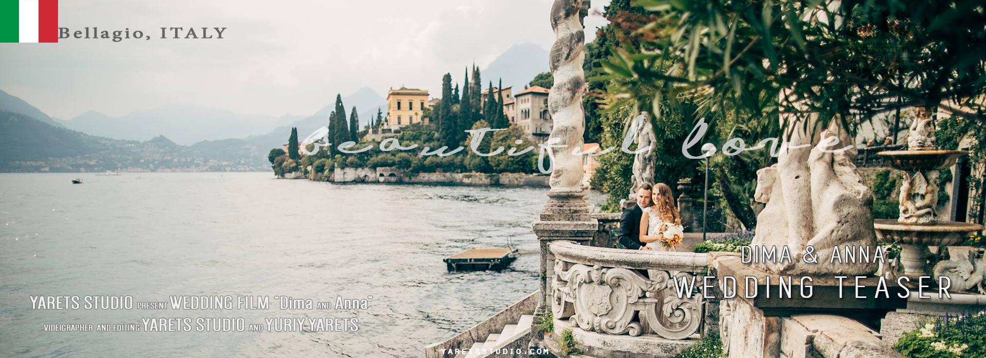 Dima + Anna | Bellagio, Italy | Villa Vitali