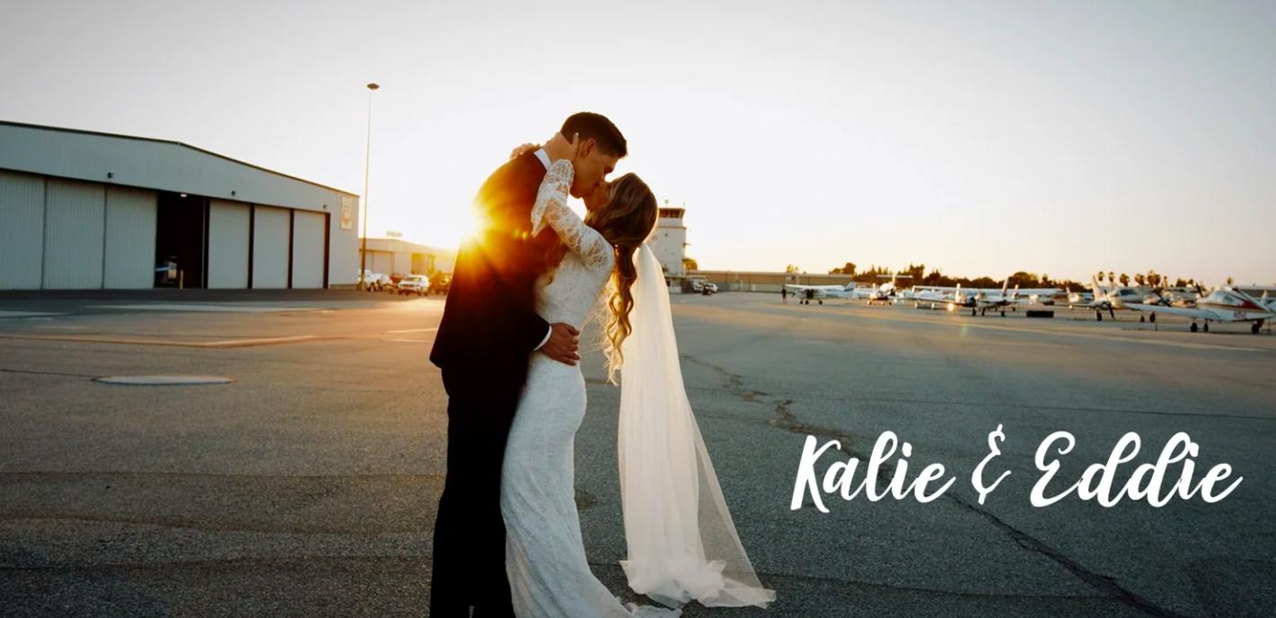 Kalie + Eddie | Fullerton, California | Hangar 21