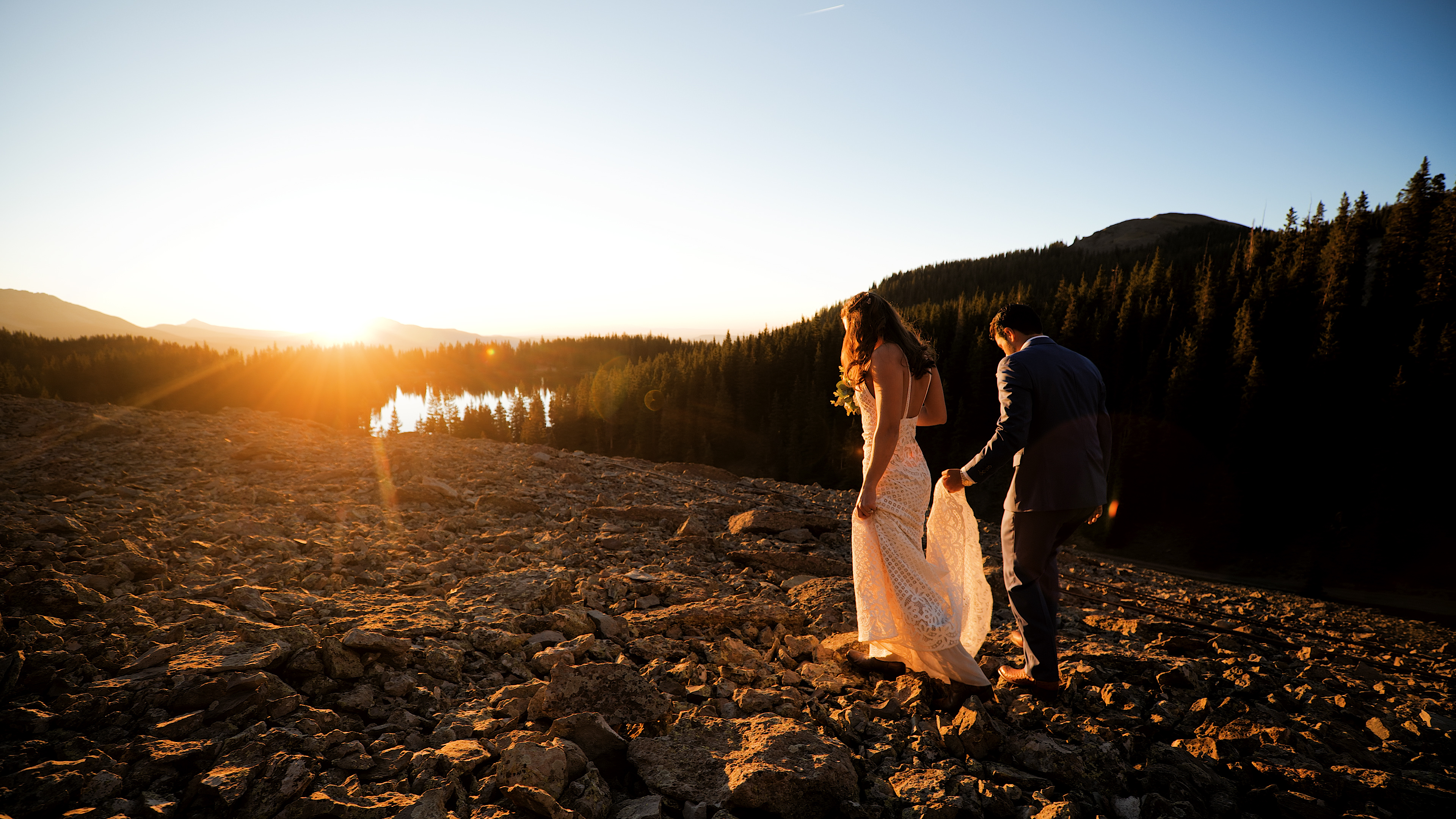 Kim + Paul | Telluride, Colorado | The Observatory at Alta Lakes
