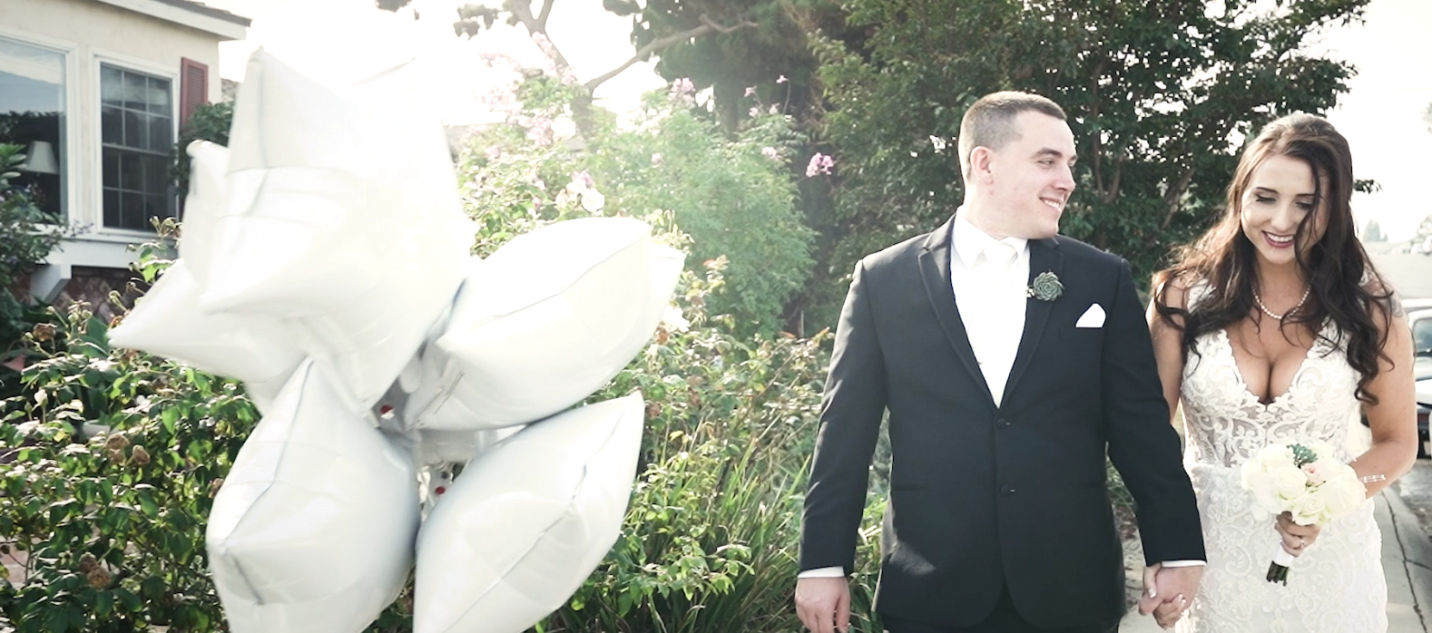 Nicole + Michael | Los Angeles, California | Backyard