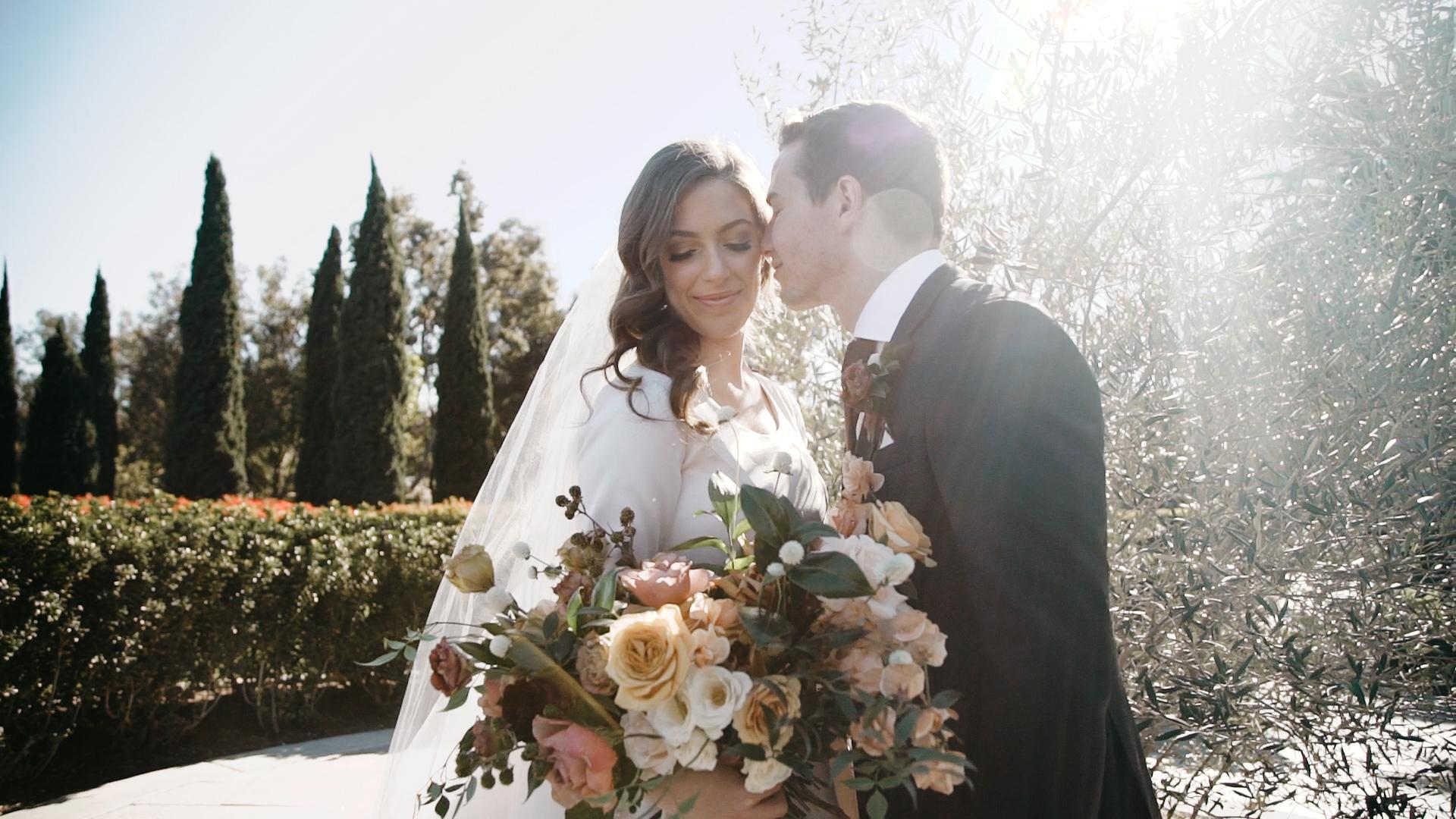 Dalton + Brooke | San Juan Capistrano, California | Franciscan Gardens