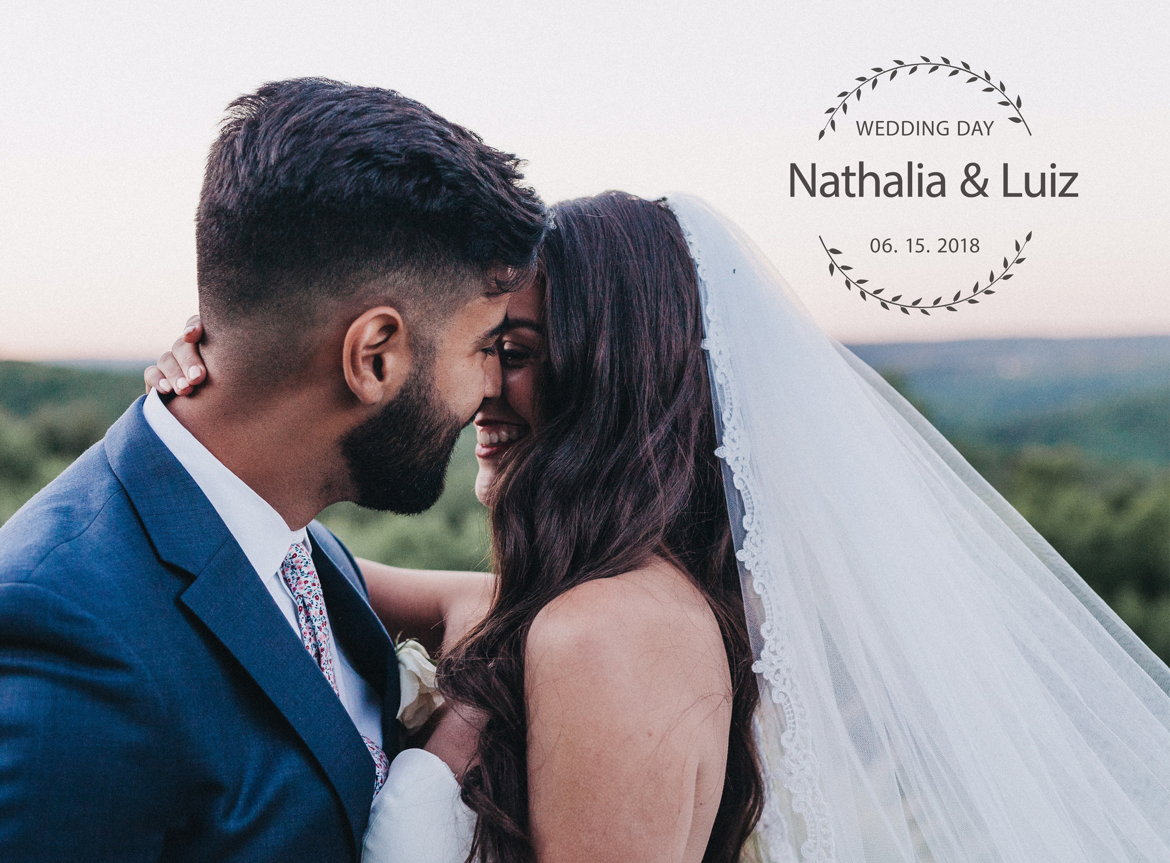 Nathalia + Luiz | South Sterling, Pennsylvania | The French Manor