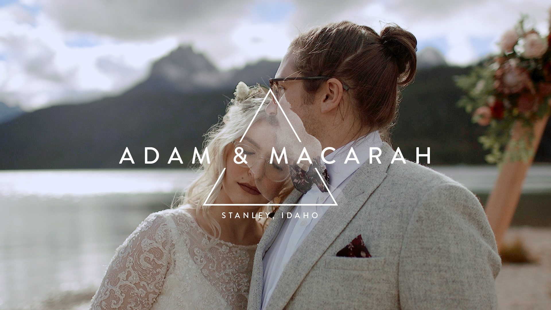Adam + Macarah | Stanley, Idaho | Red Fish Lake Lodge