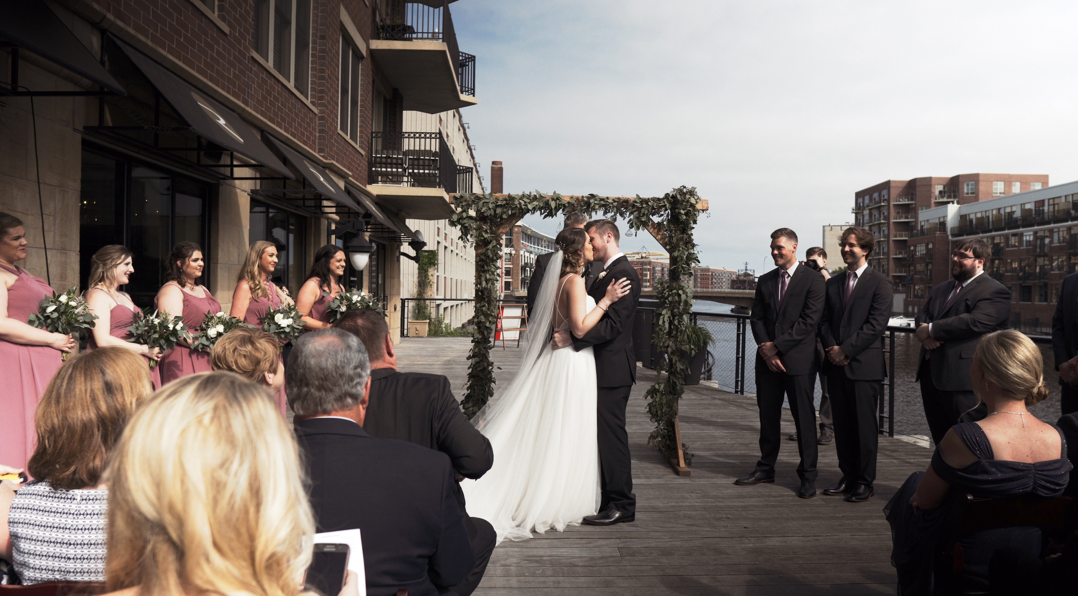 Andraya + Sam | Milwaukee, Wisconsin | Surg on the Water
