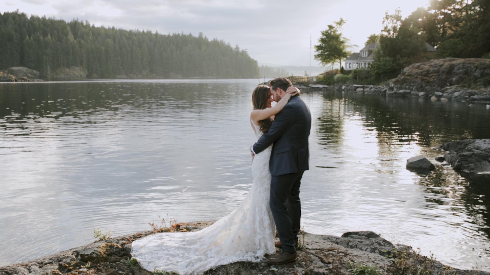 Karen + Jesse | Victoria, Canada | Gowlland Harbour Resort