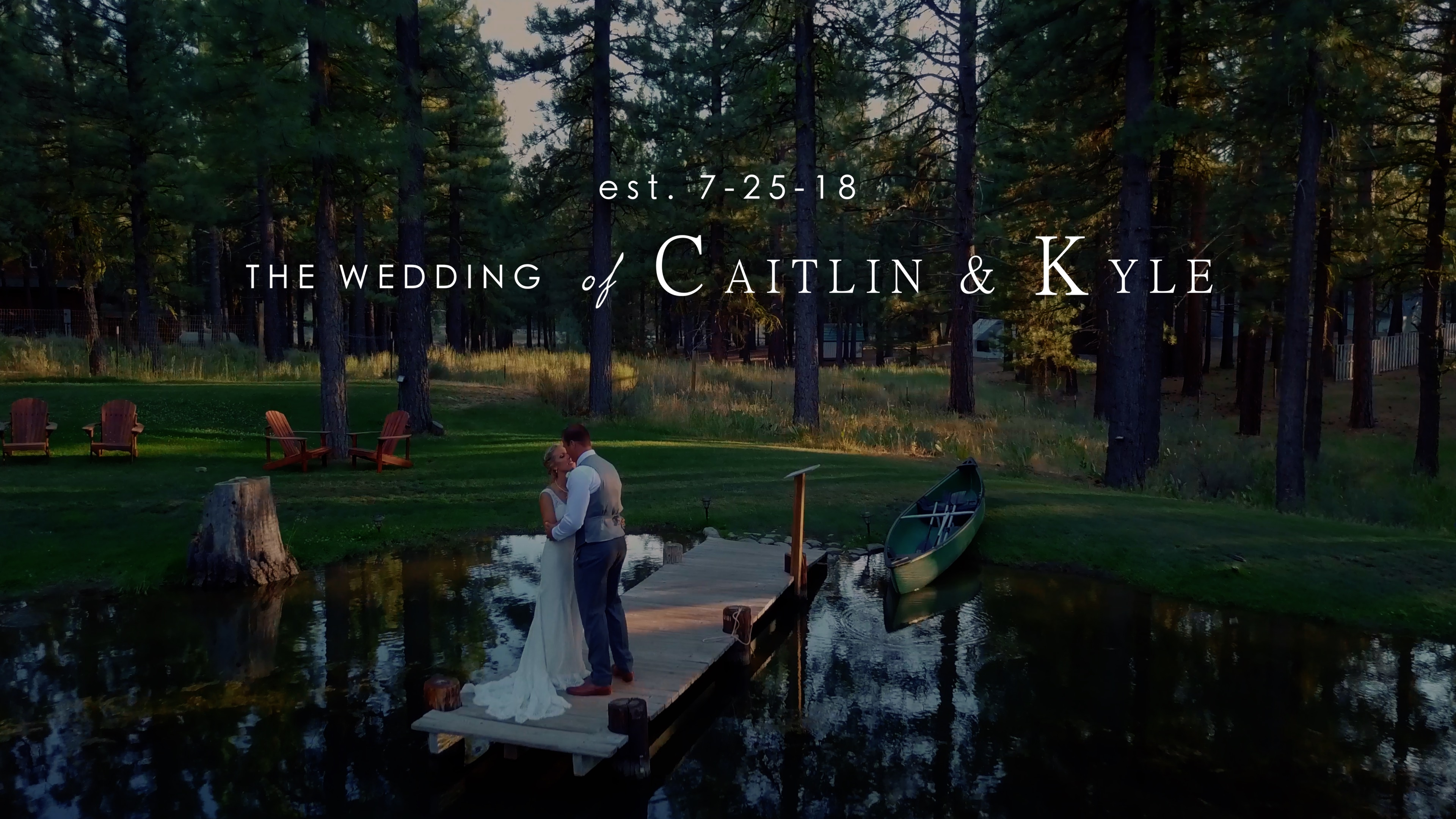 Caitlin + Kyle | Graeagle, California | Chalet View Lodge