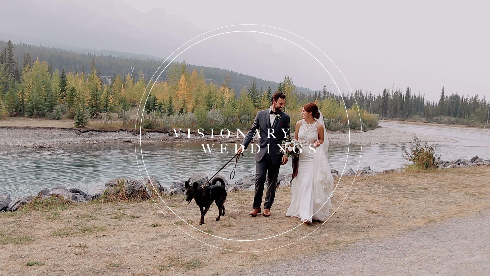 Meghan + Sven   Canmore, Canada   creekside villa