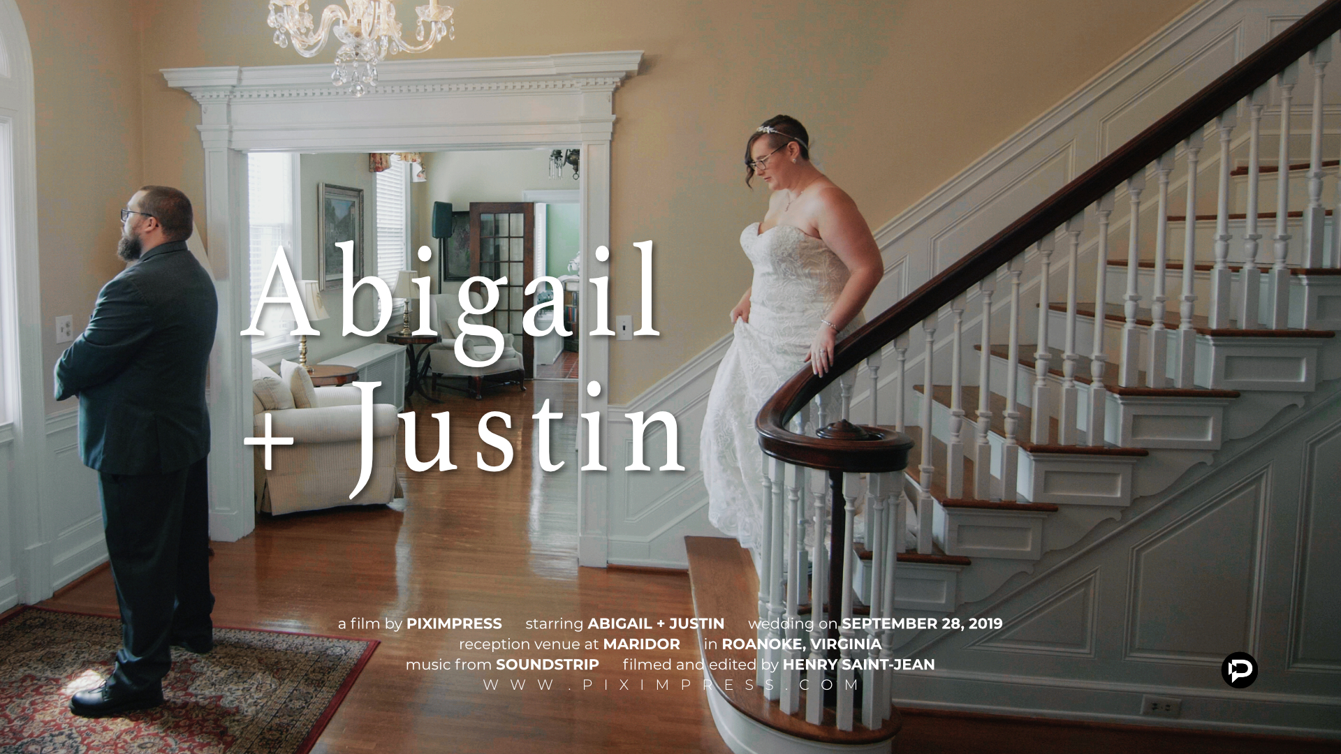 Abigail + Justin | Roanoke, Virginia | The Maridor