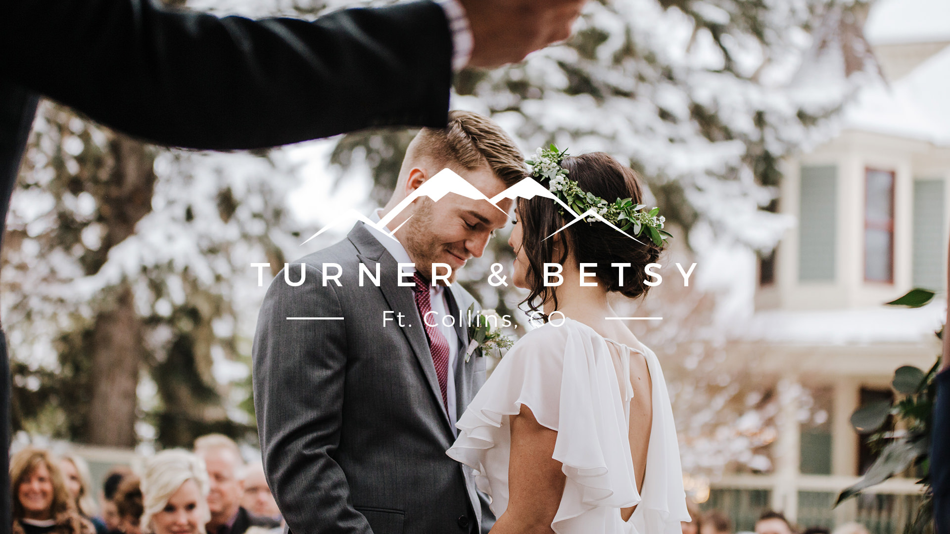 Turner + Betsy | Laporte, Colorado | Wedgewood Tapestry House