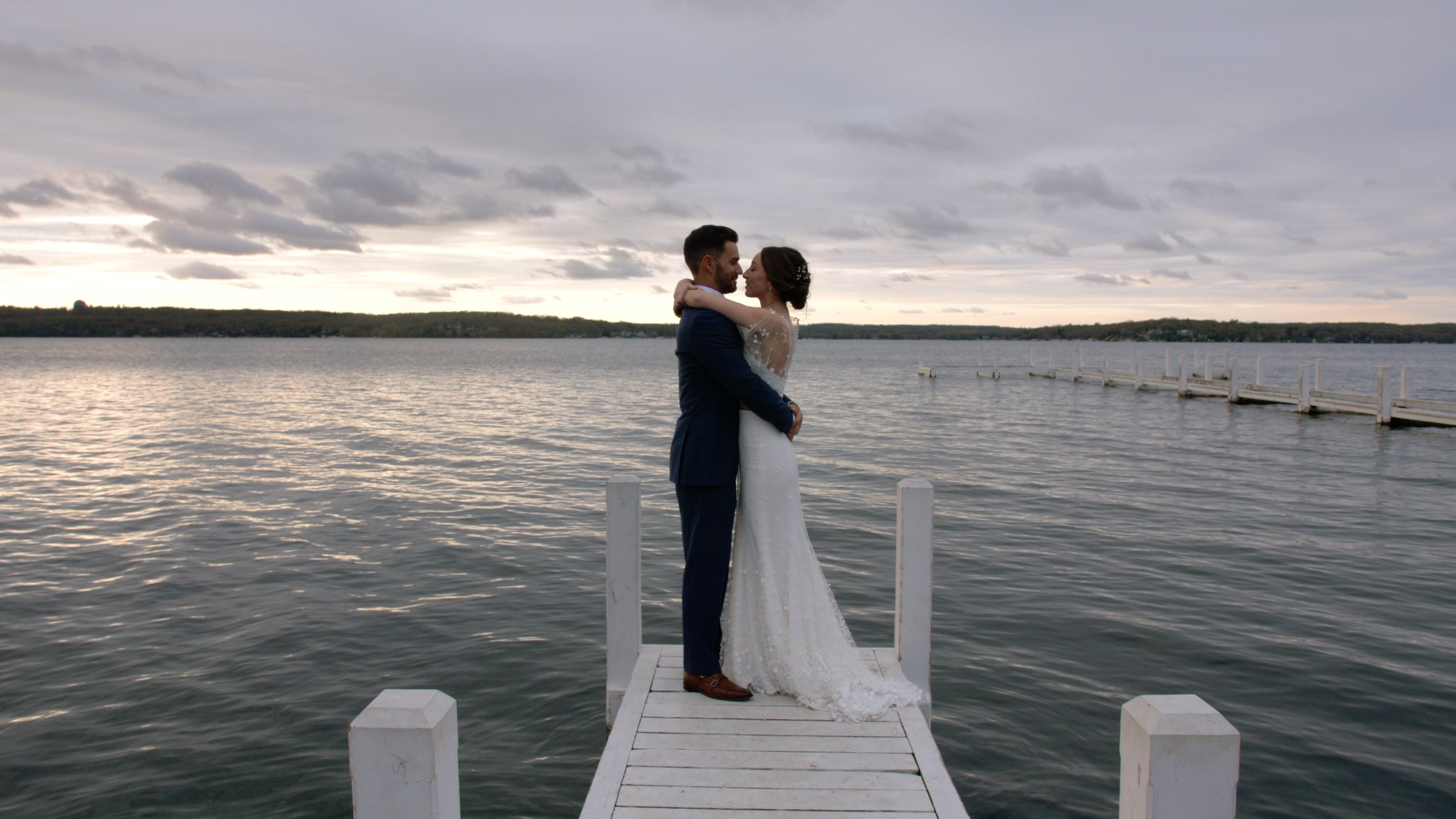 Kacie + Tyler | Fontana-on-Geneva Lake, Wisconsin | Lake Geneva Yacht Club