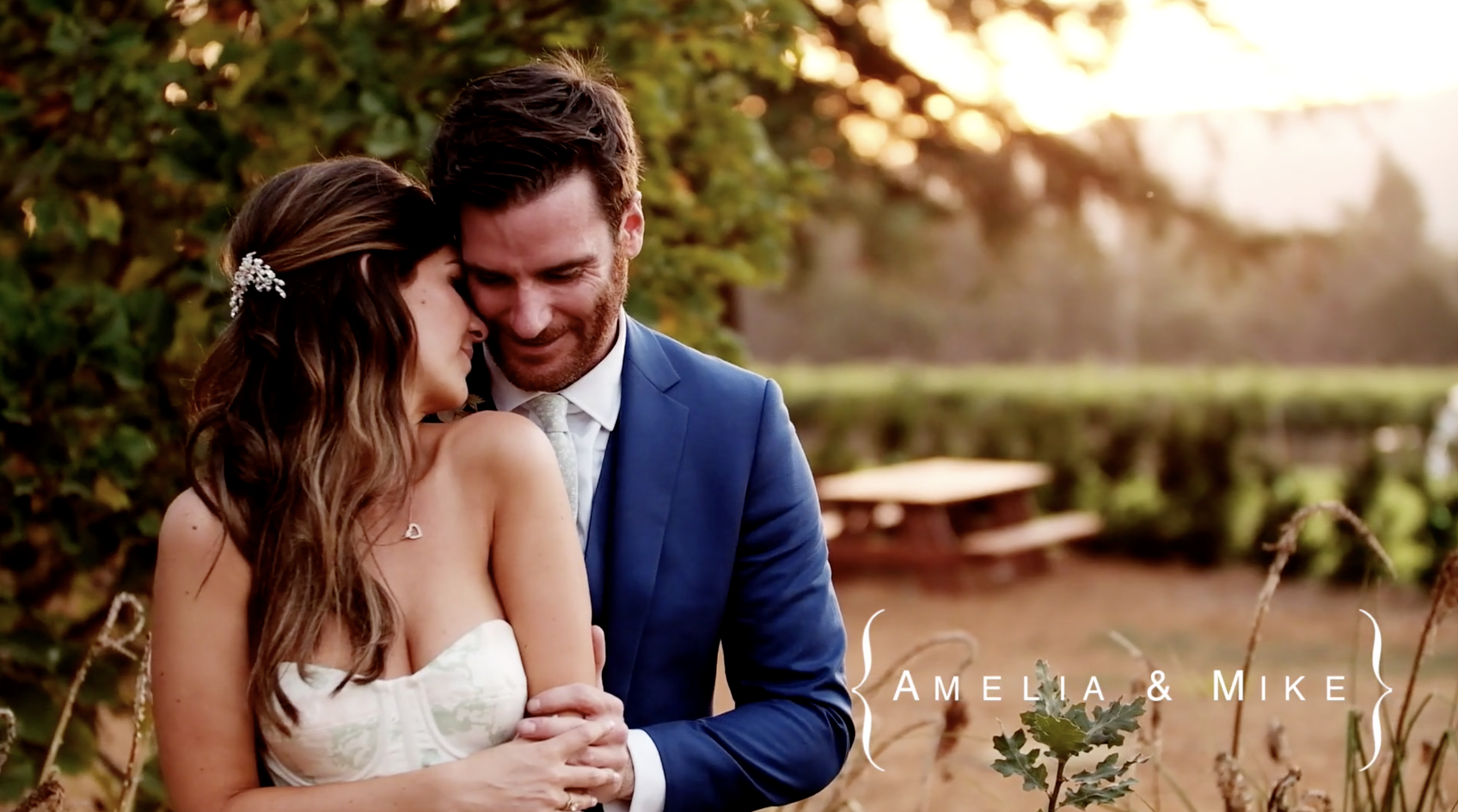 Amelia + Mike | Kenwood, California | Chateau St. Jean Winery